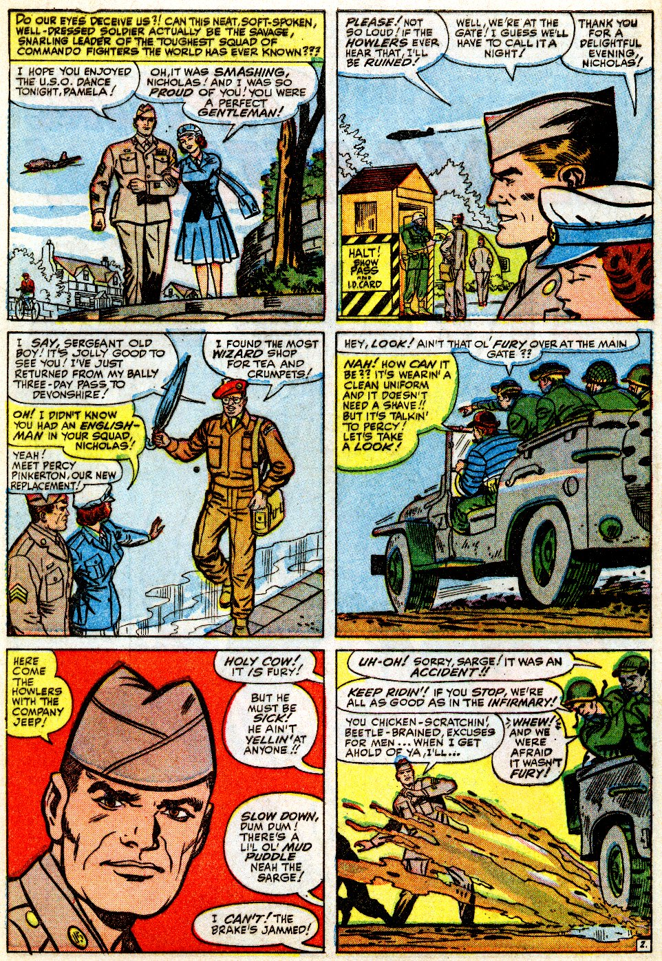 Read online Sgt. Fury comic -  Issue #9 - 4