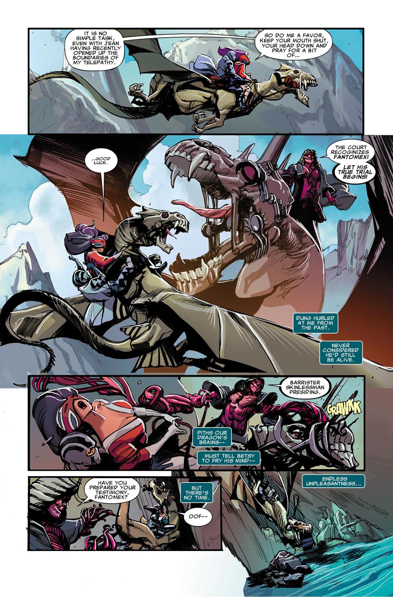 Uncanny X-Force (2010) #22 #24 - English 12
