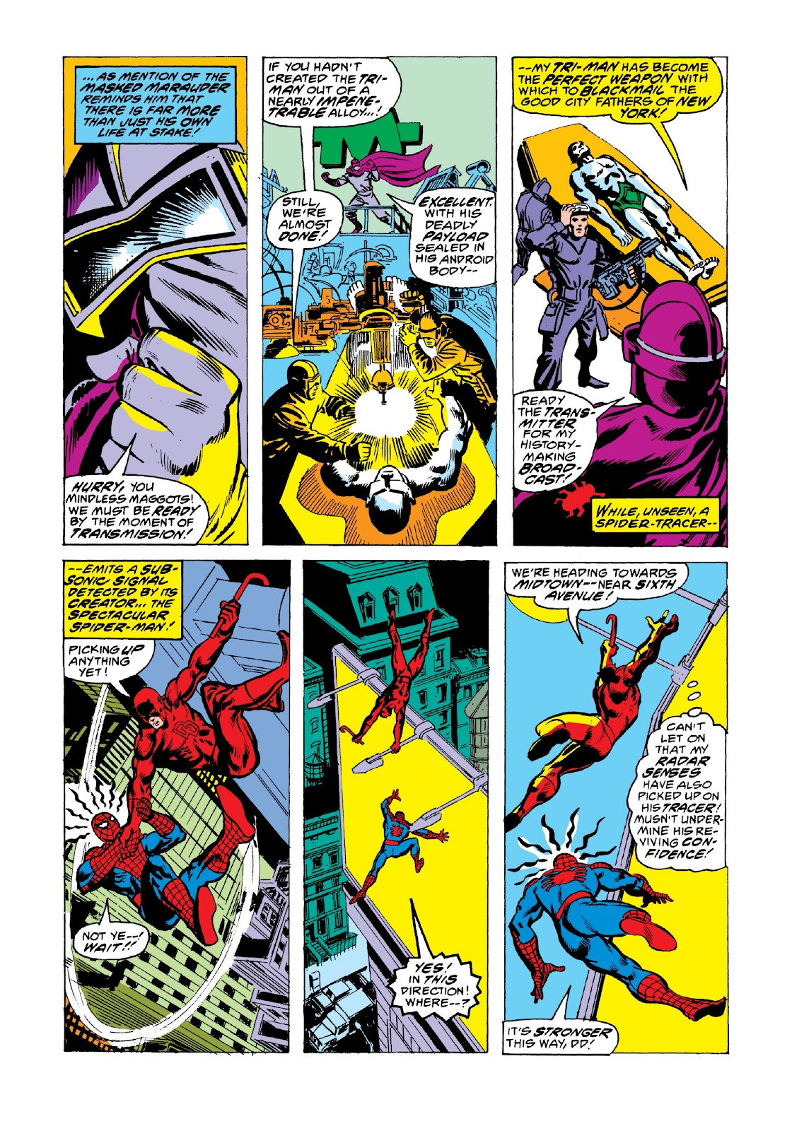 Read online Marvel Masterworks: The Spectacular Spider-Man comic -  Issue # TPB 2 (Part 3) - 19