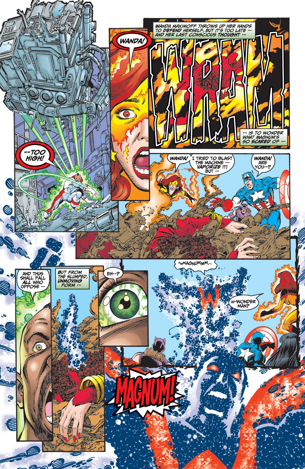 Read online Avengers (1998) comic -  Issue #9 - 17