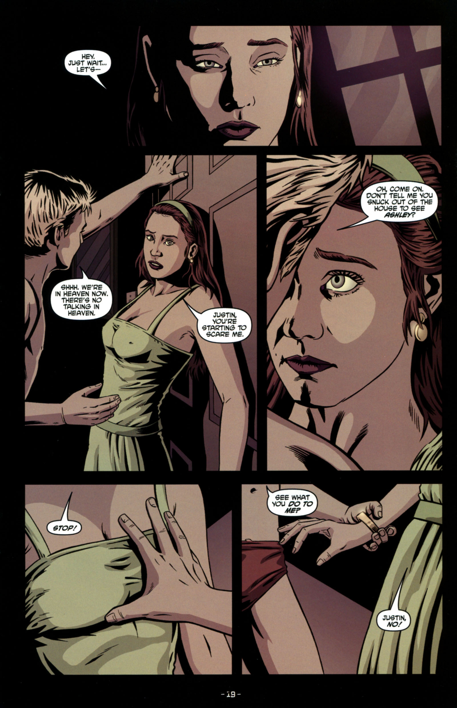 Read online True Blood: Tainted Love comic -  Issue #4 - 21
