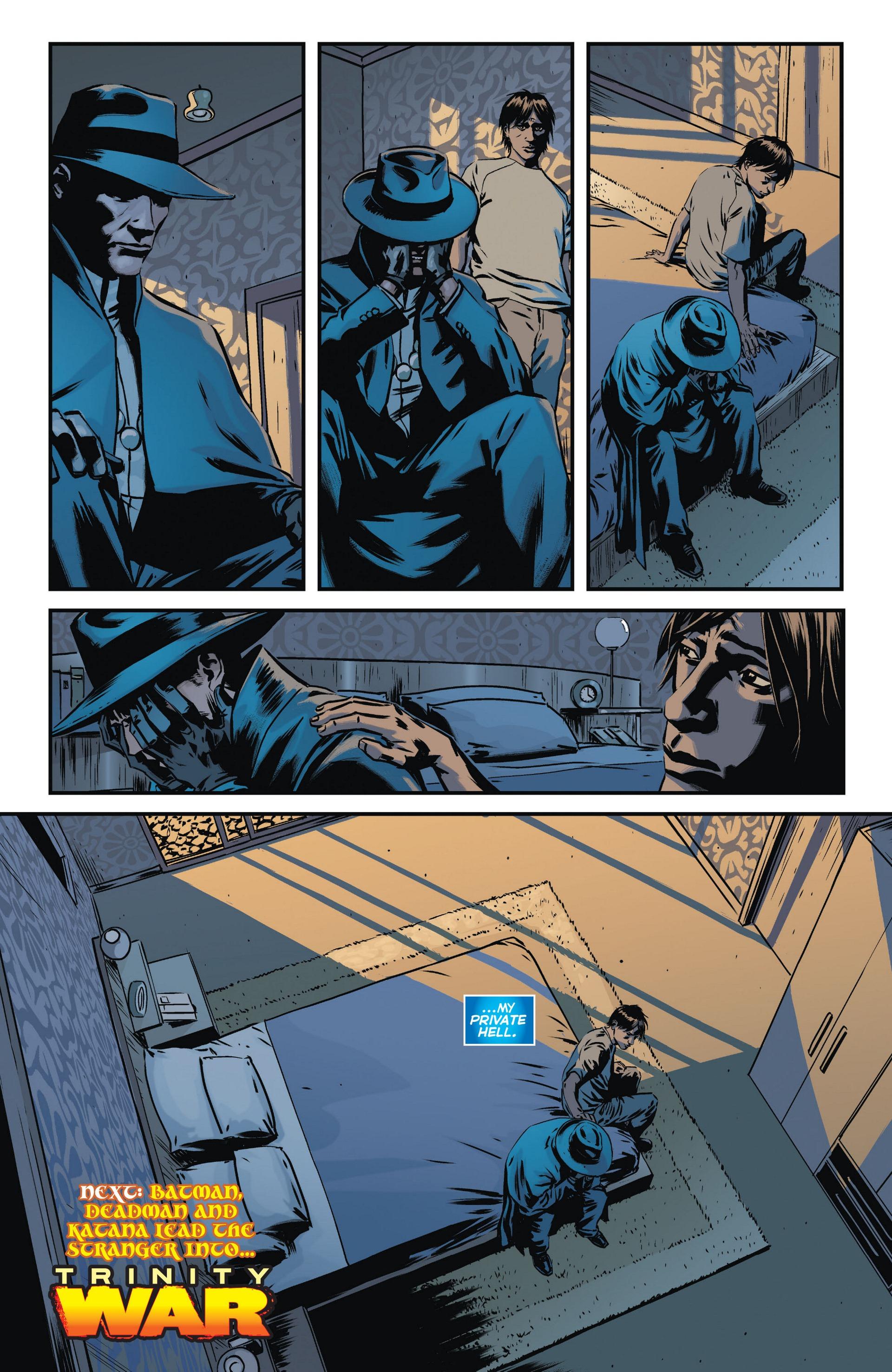 Read online Trinity of Sin: The Phantom Stranger comic -  Issue #10 - 20