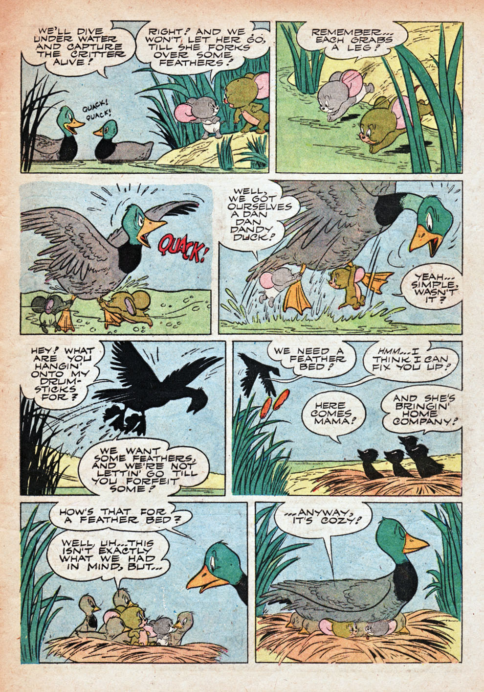 Tom & Jerry Comics issue 110 - Page 40