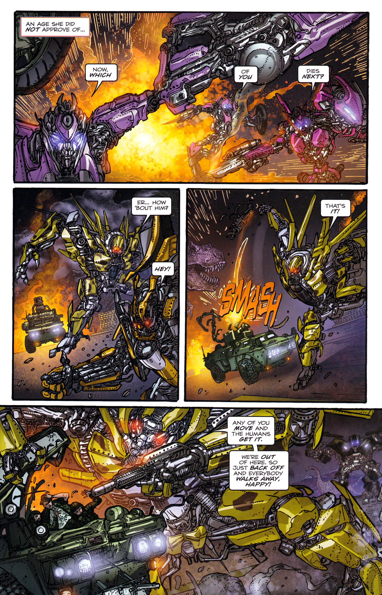 Read online Transformers: Dark of the Moon Rising Storm comic -  Issue #1 - 16