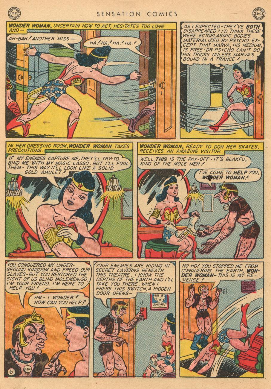 Read online Sensation (Mystery) Comics comic -  Issue #36 - 8