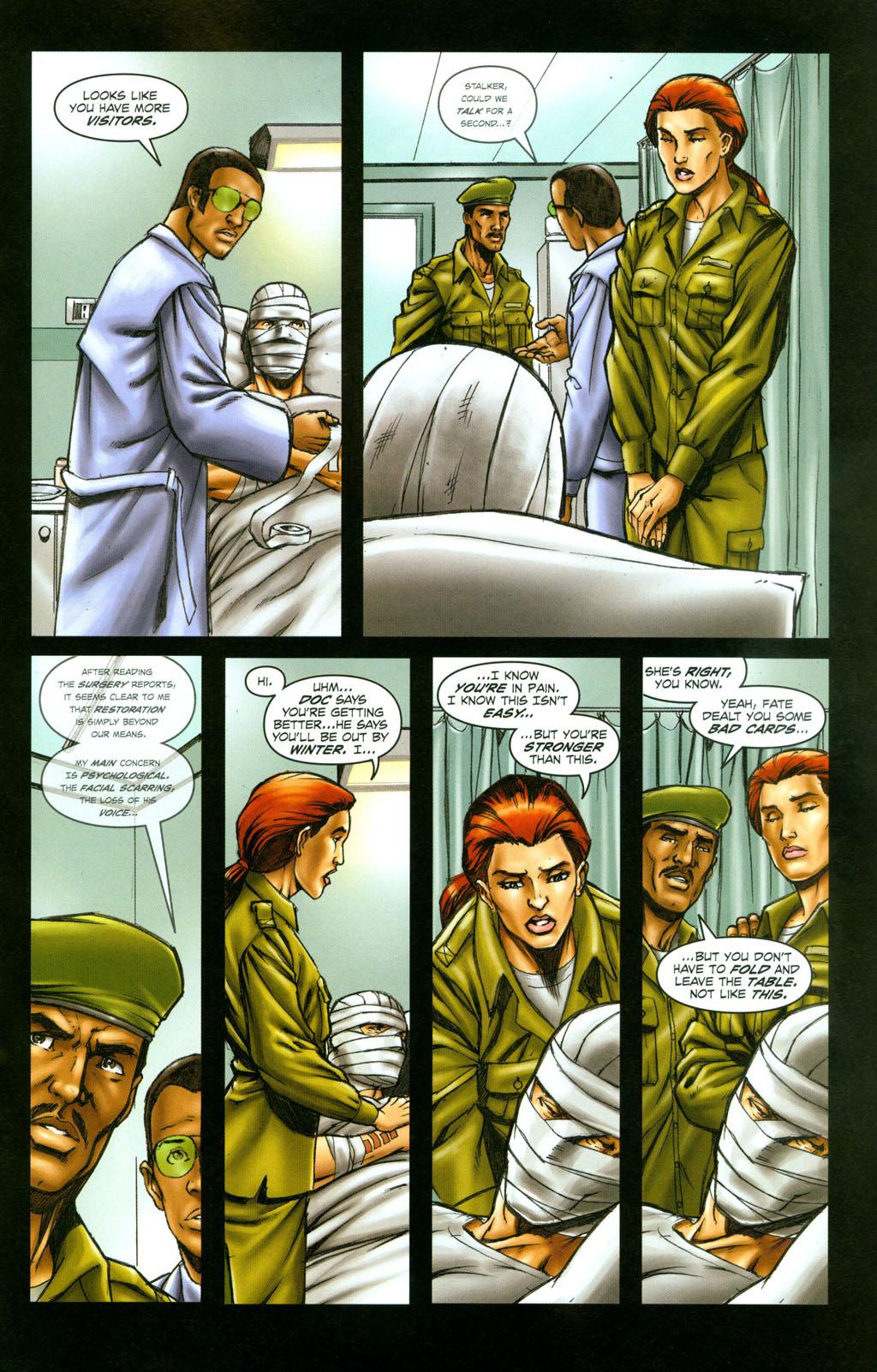 Read online Snake Eyes: Declassified comic -  Issue #6 - 22
