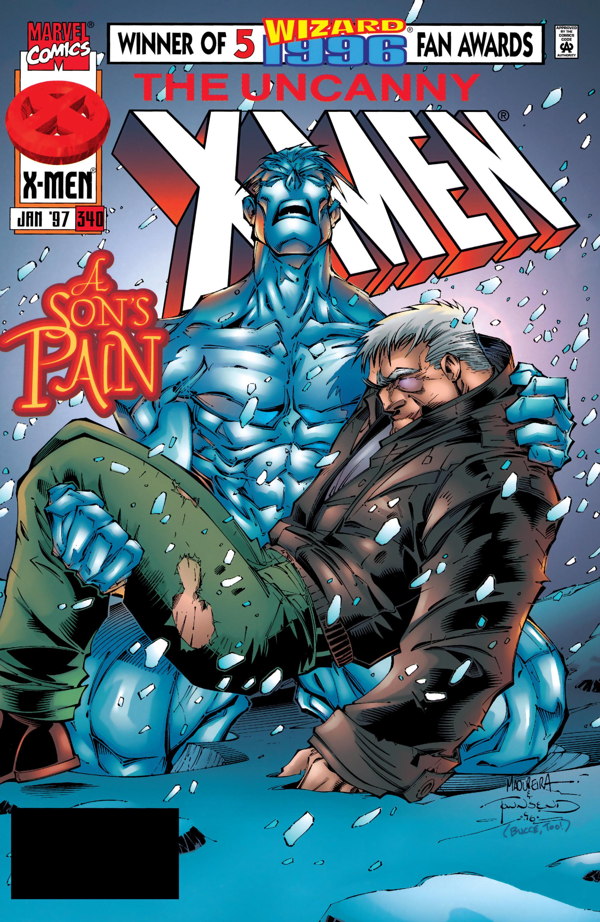 Read online Uncanny X-Men (1963) comic -  Issue #340 - 1