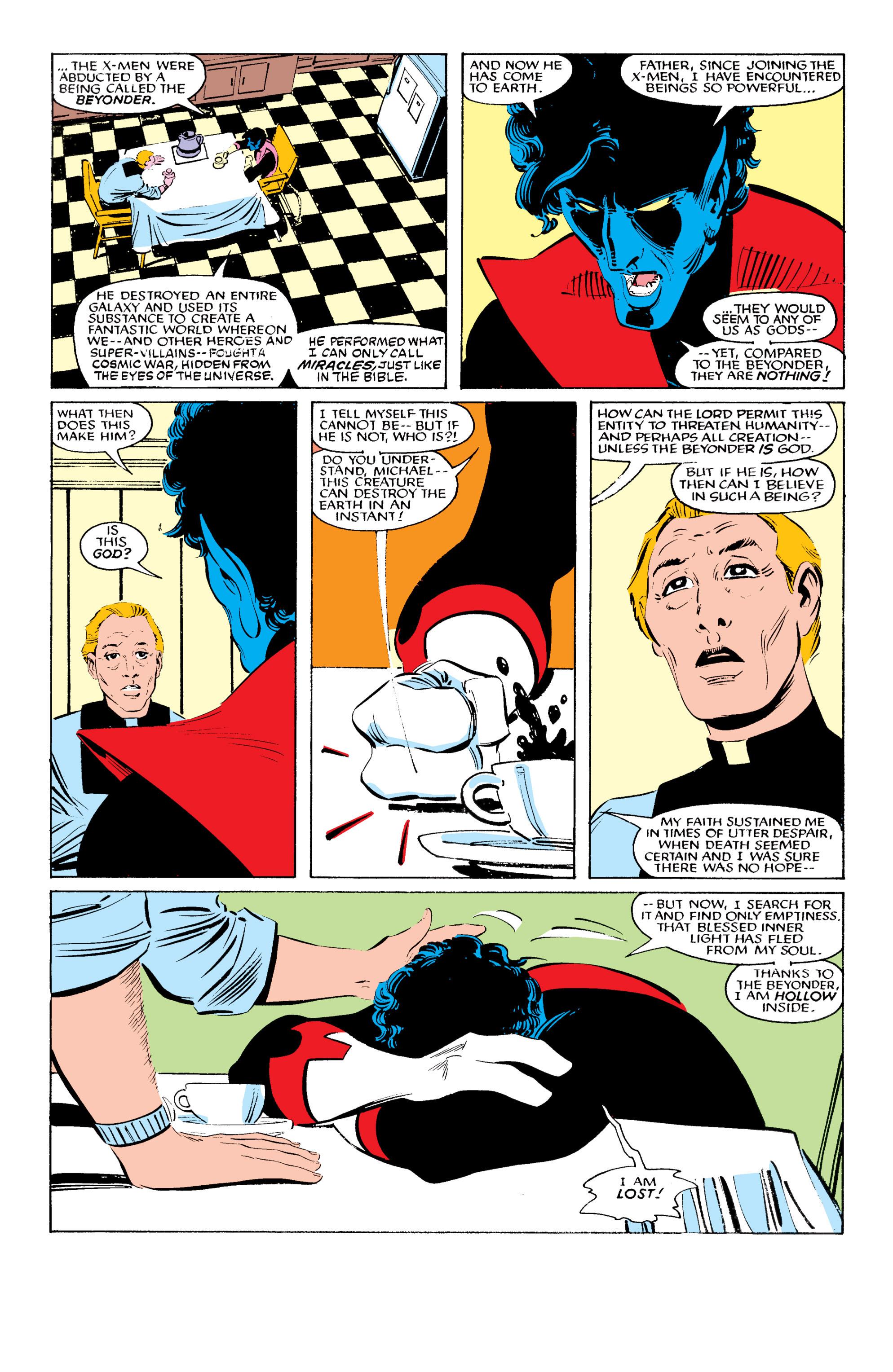 Read online Uncanny X-Men (1963) comic -  Issue #196 - 9