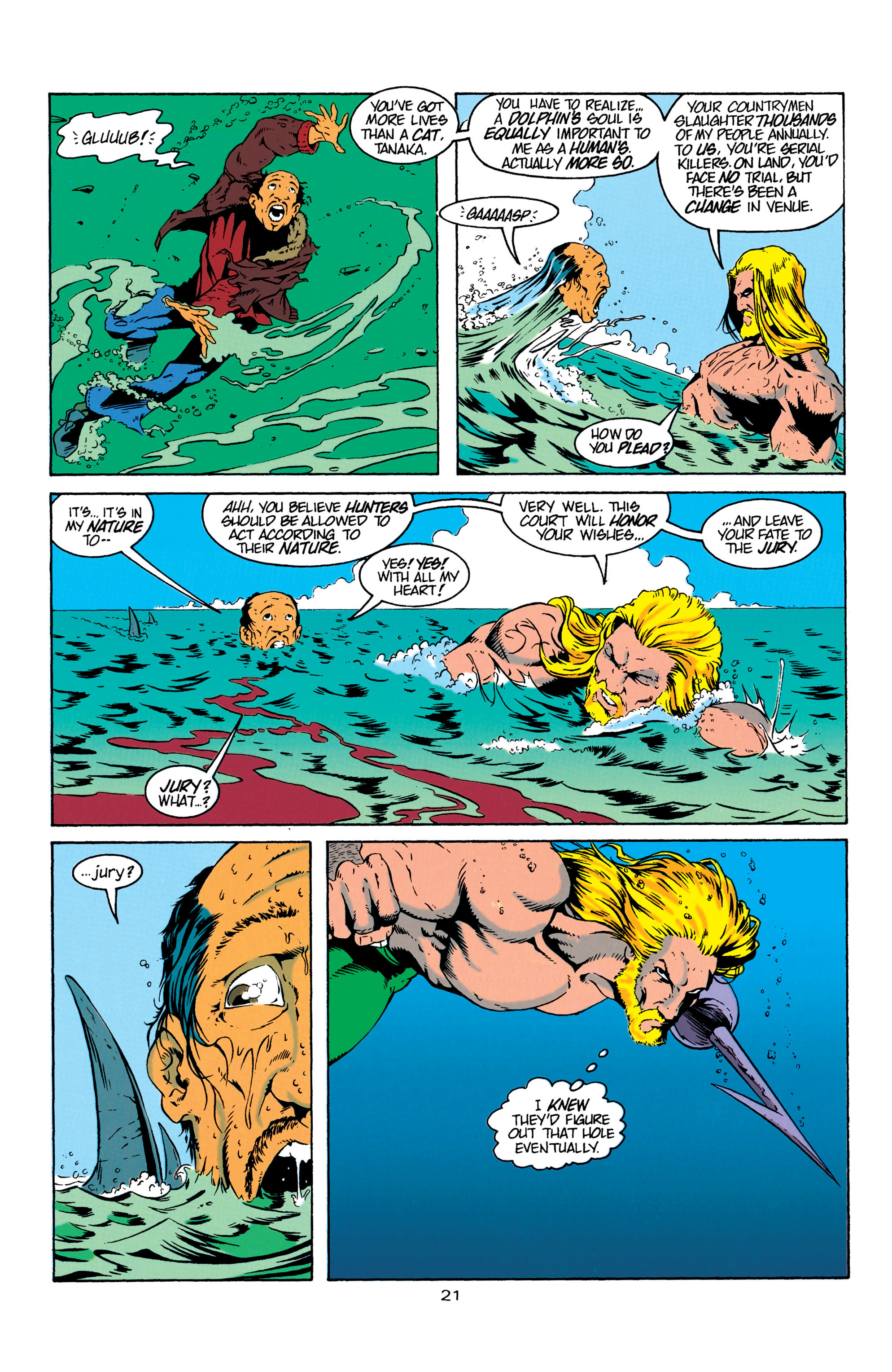 Read online Aquaman (1994) comic -  Issue #4 - 22