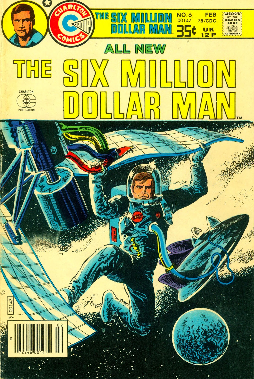 The Six Million Dollar Man [comic] issue 6 - Page 1