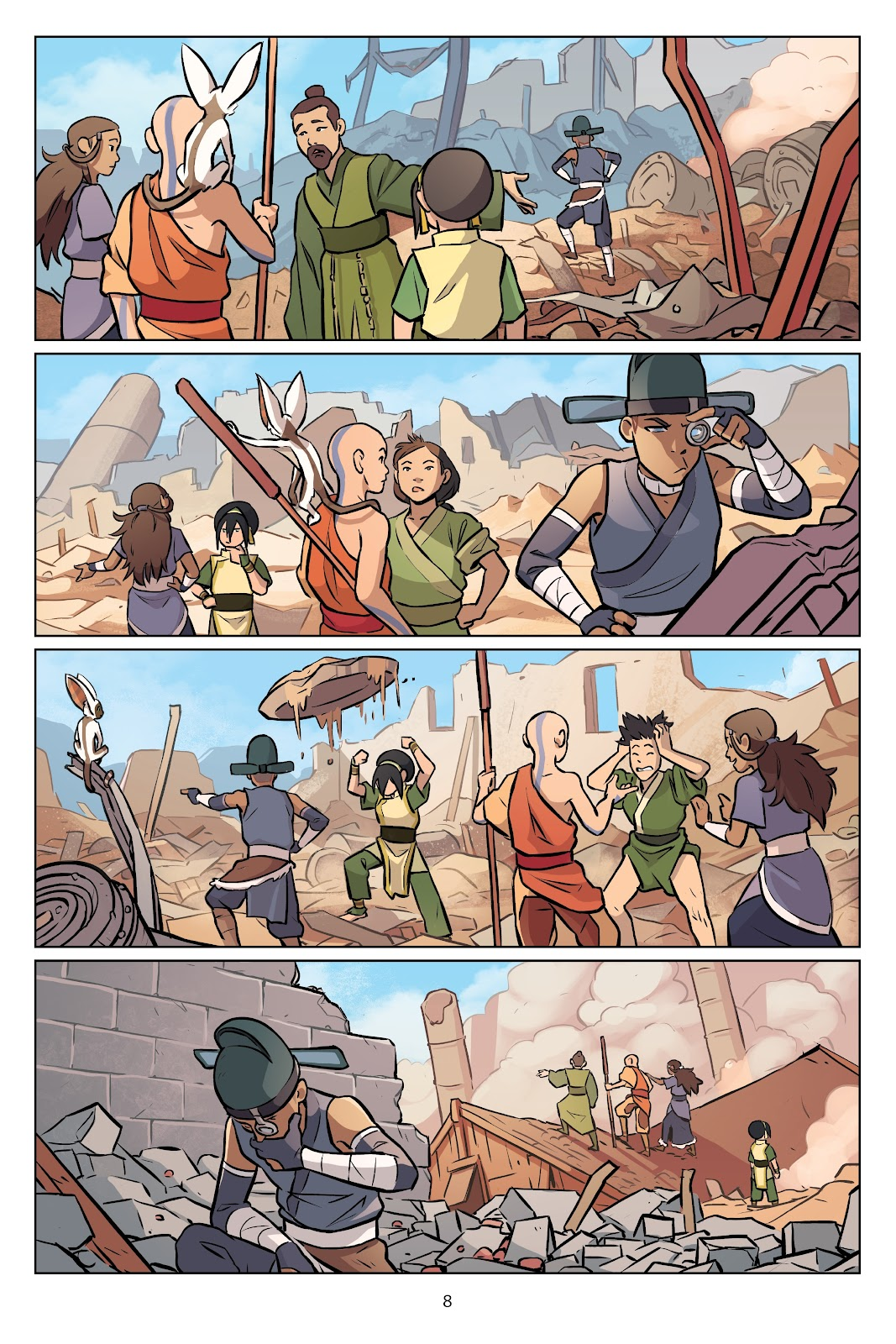 Read online Nickelodeon Avatar: The Last Airbender - Imbalance comic -  Issue # TPB 2 - 9