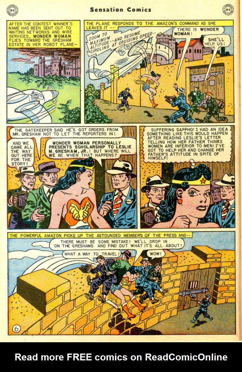 Read online Sensation (Mystery) Comics comic -  Issue #85 - 7