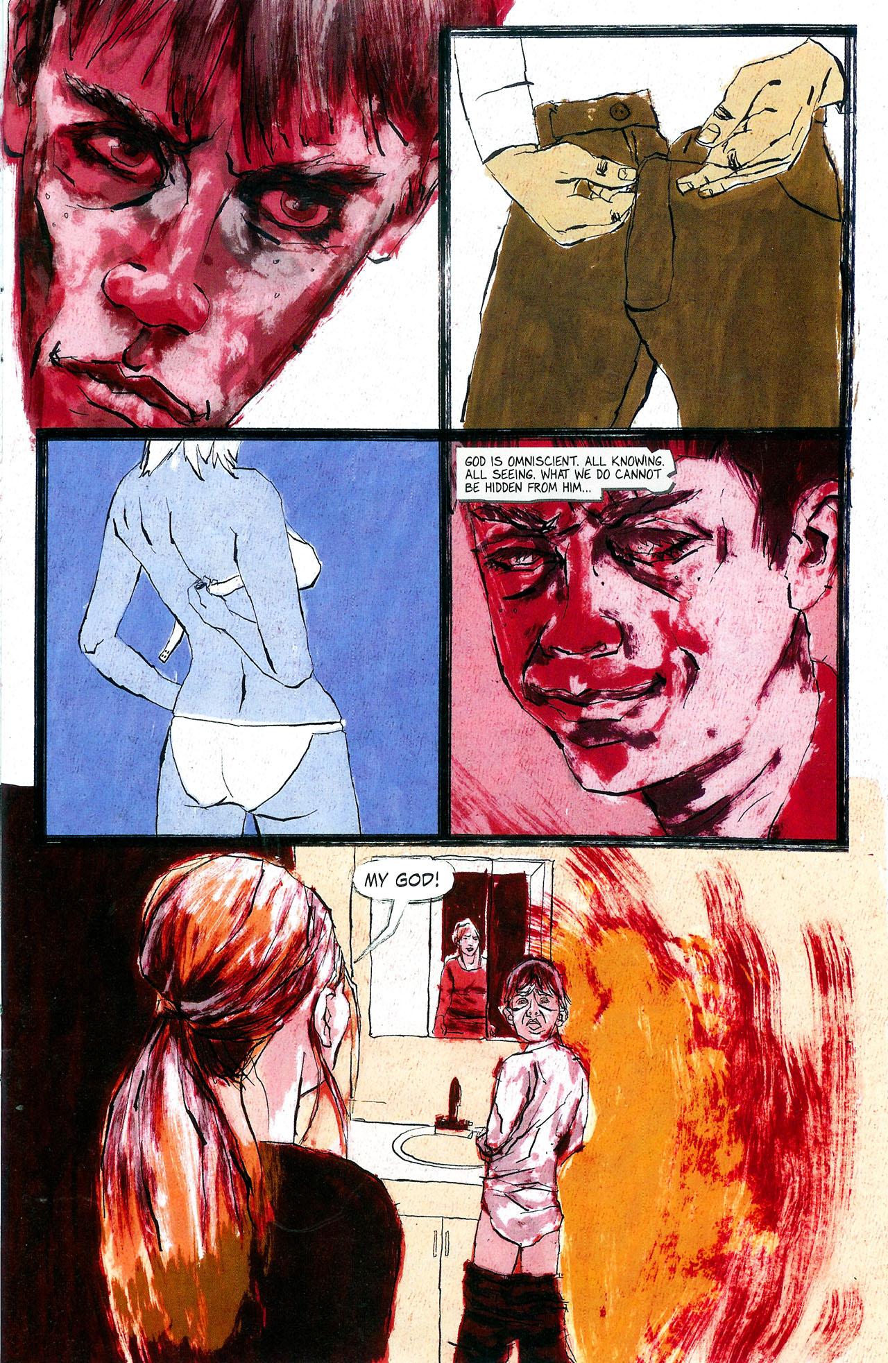 Read online Se7en comic -  Issue #4 - 13