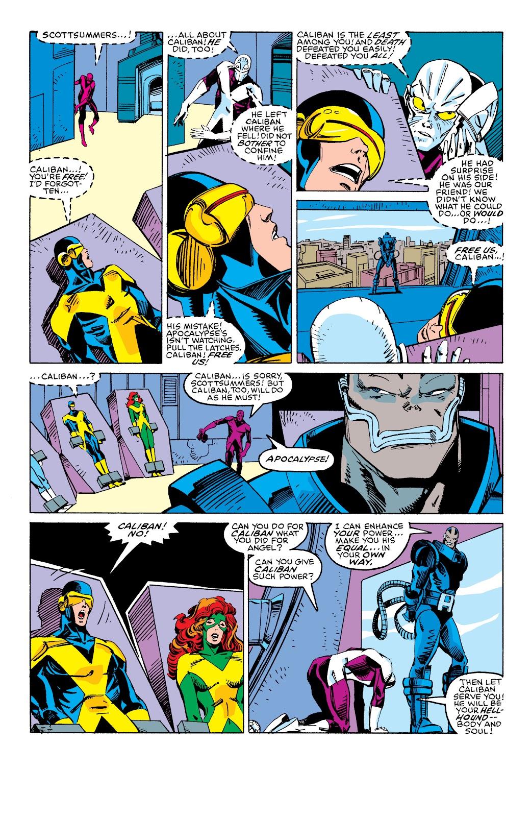 Read online X-Men Milestones: Fall of the Mutants comic -  Issue # TPB (Part 3) - 2