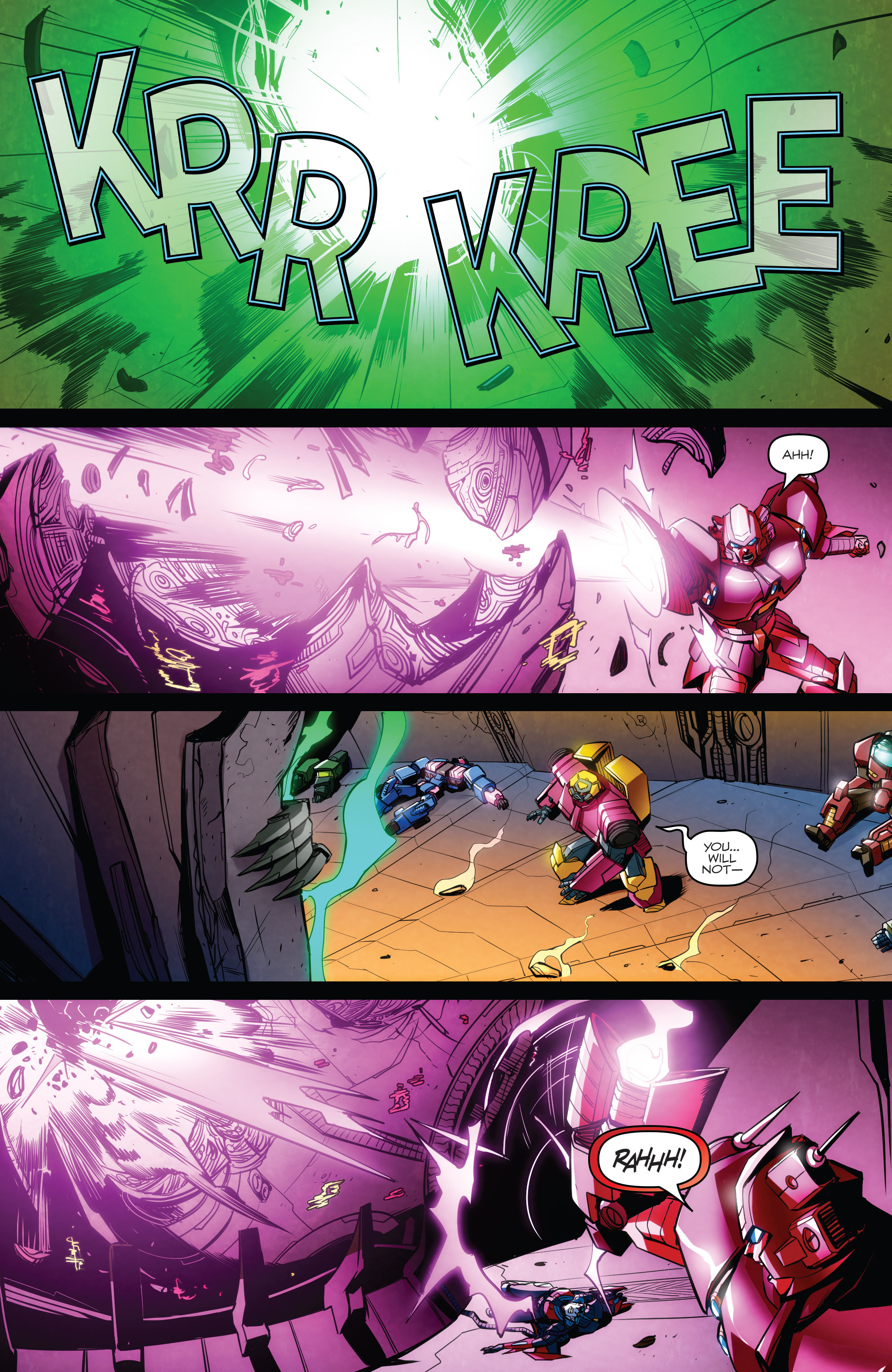 Read online Transformers: Till All Are One comic -  Issue #8 - 19