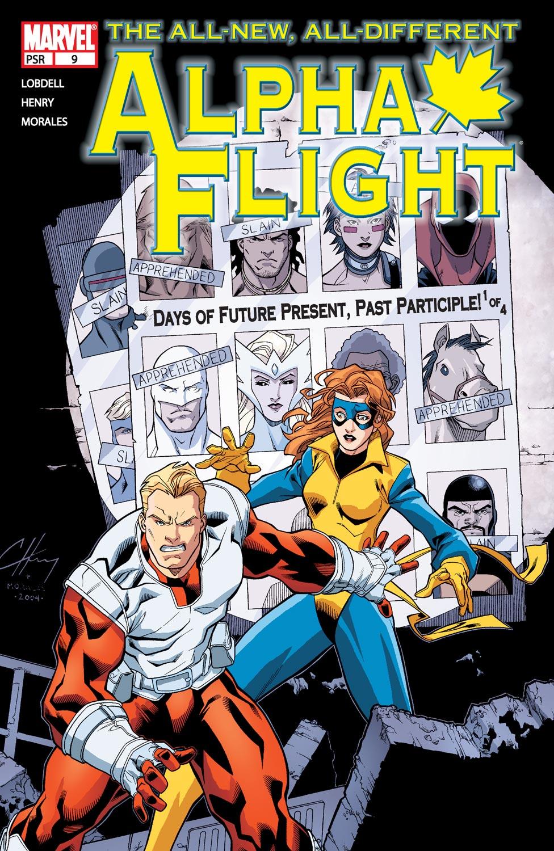 Alpha Flight (2004) issue 9 - Page 1