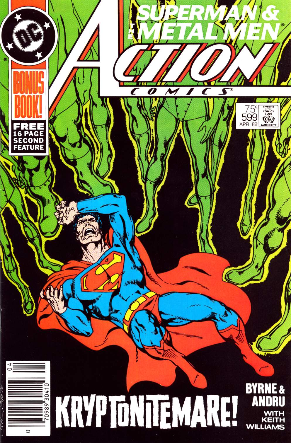 Read online Action Comics (1938) comic -  Issue #599 - 1
