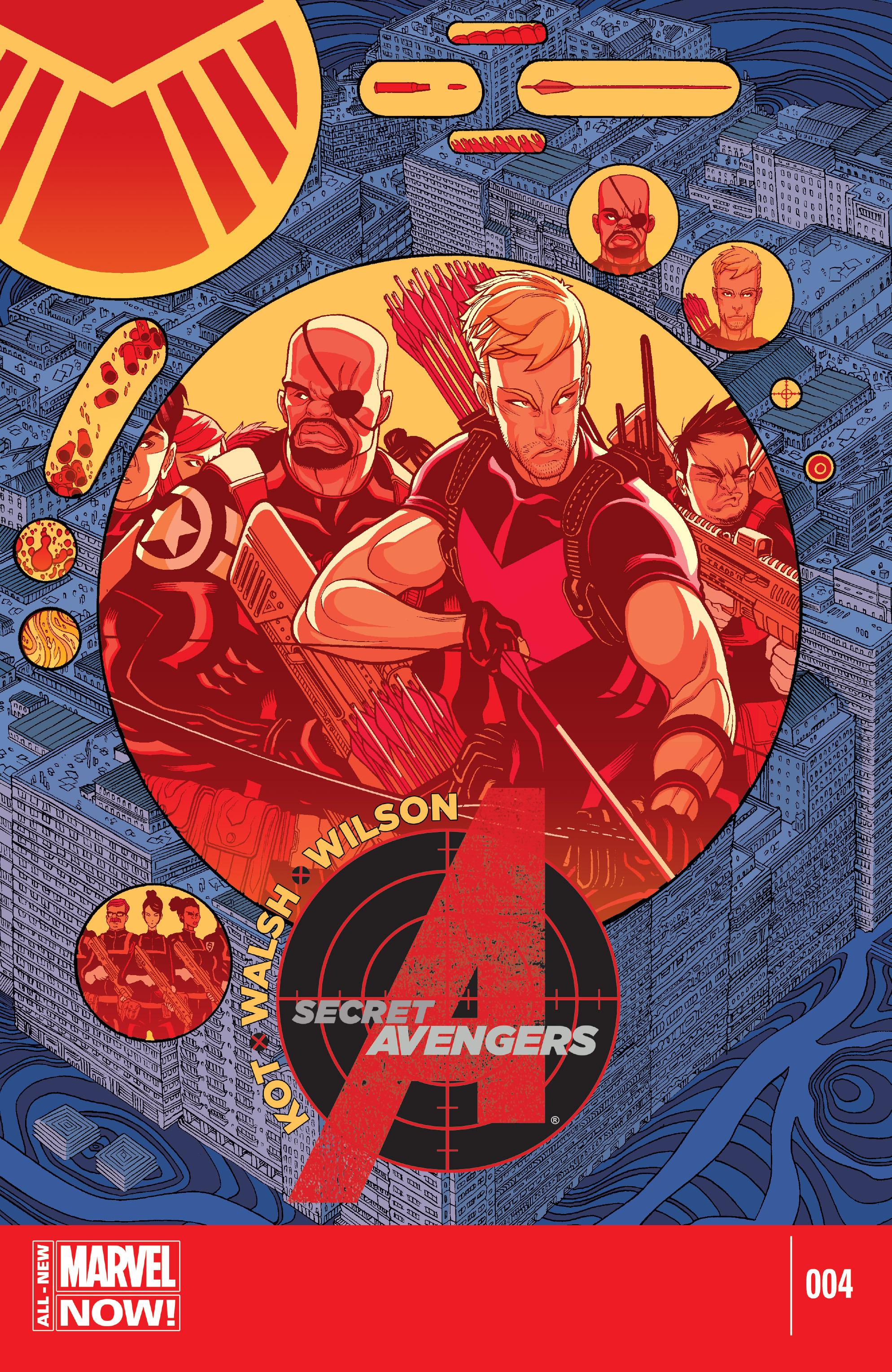 Read online Secret Avengers (2014) comic -  Issue #4 - 1