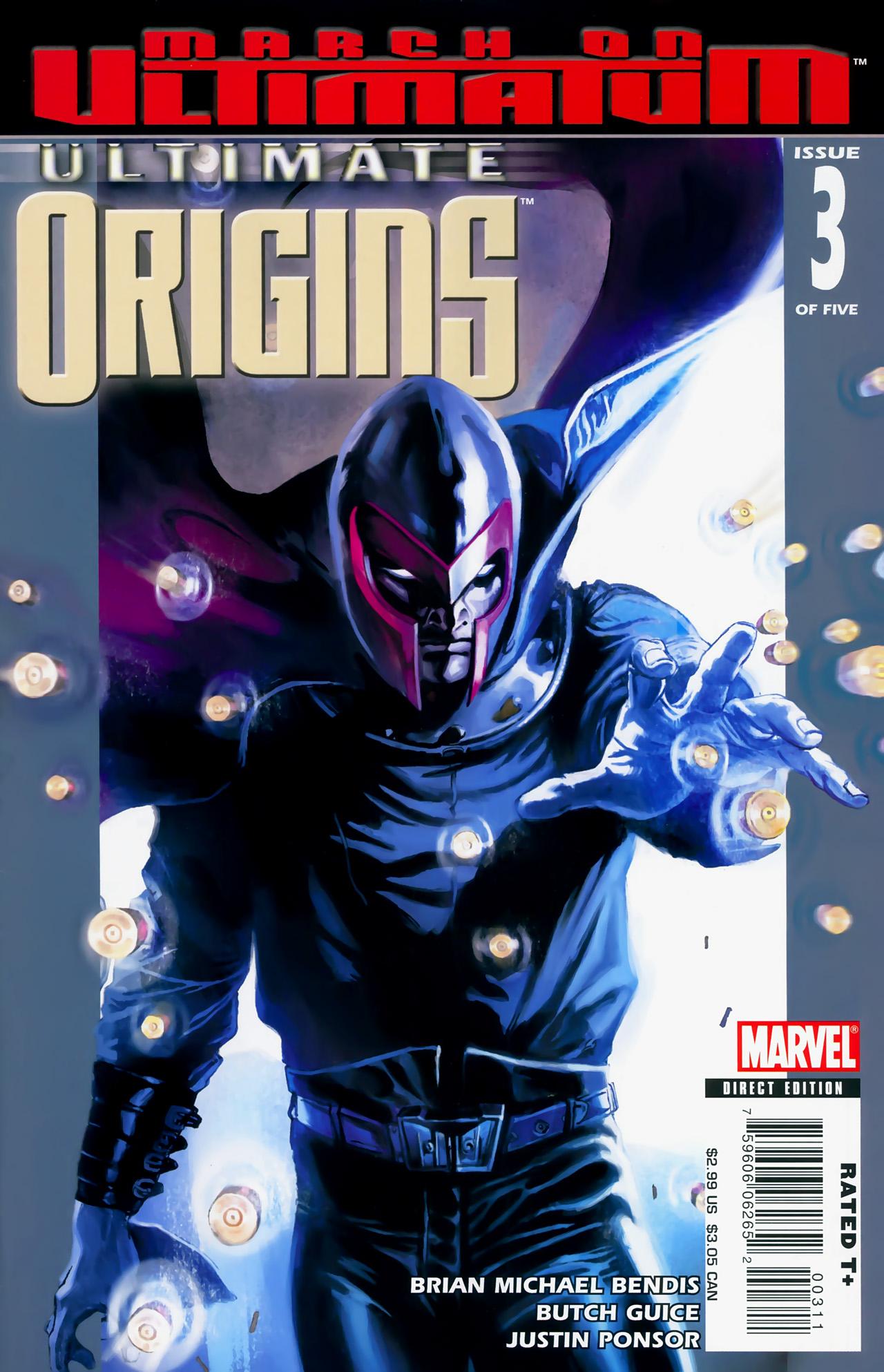 Read online Ultimate Origins comic -  Issue #3 - 1