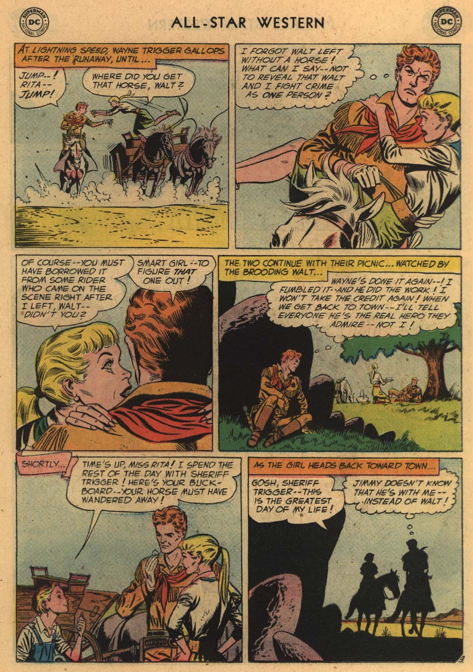 Read online All-Star Western (1951) comic -  Issue #100 - 11