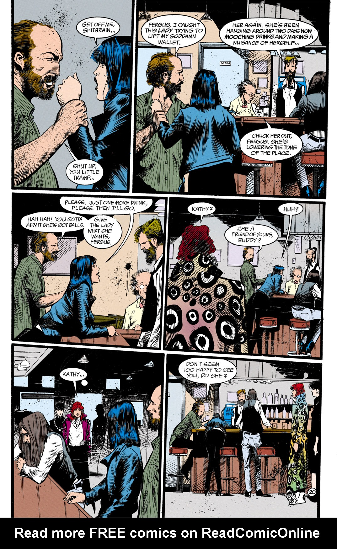 Read online Shade, the Changing Man comic -  Issue #13 - 21