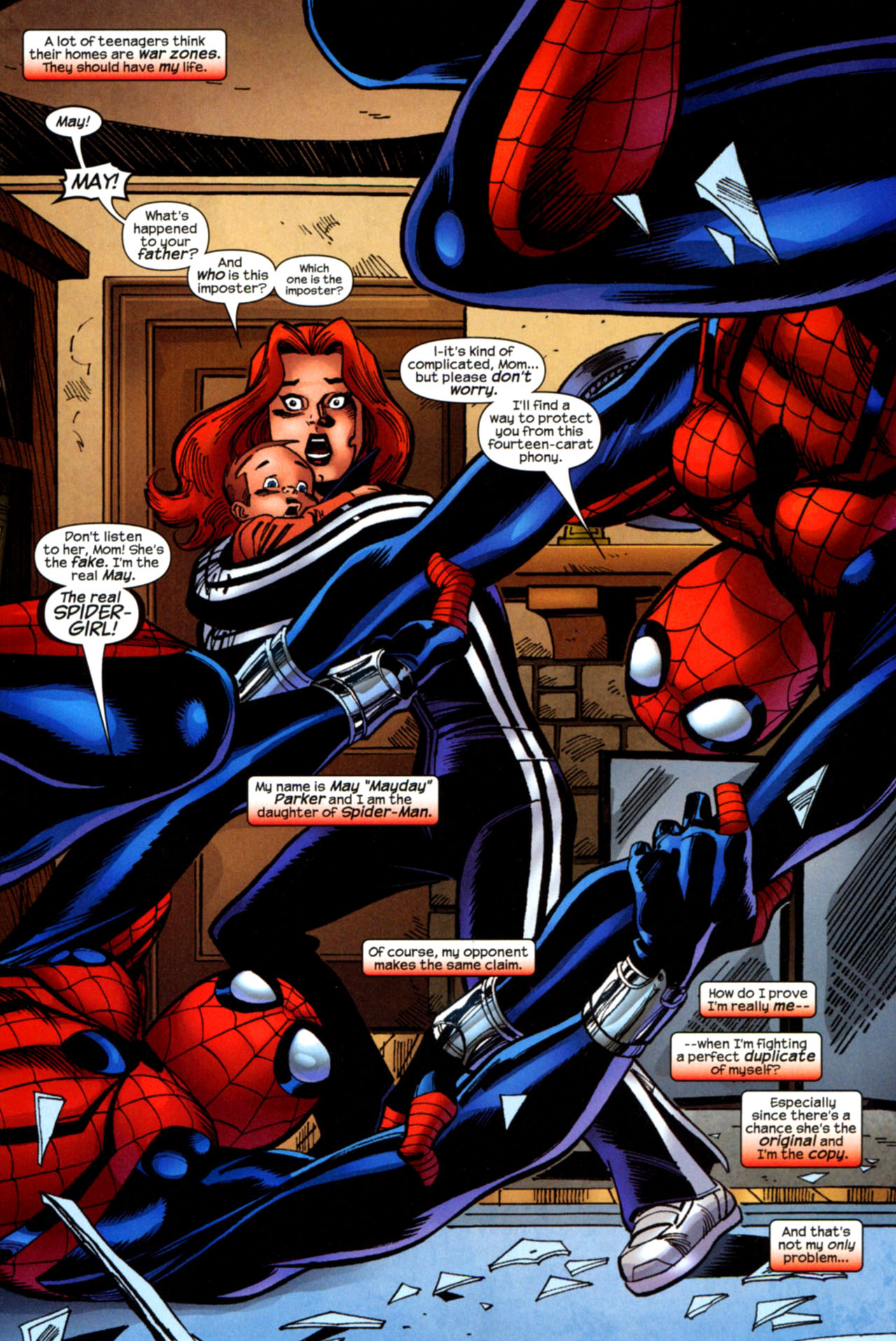 Read online Amazing Spider-Girl comic -  Issue #29 - 2