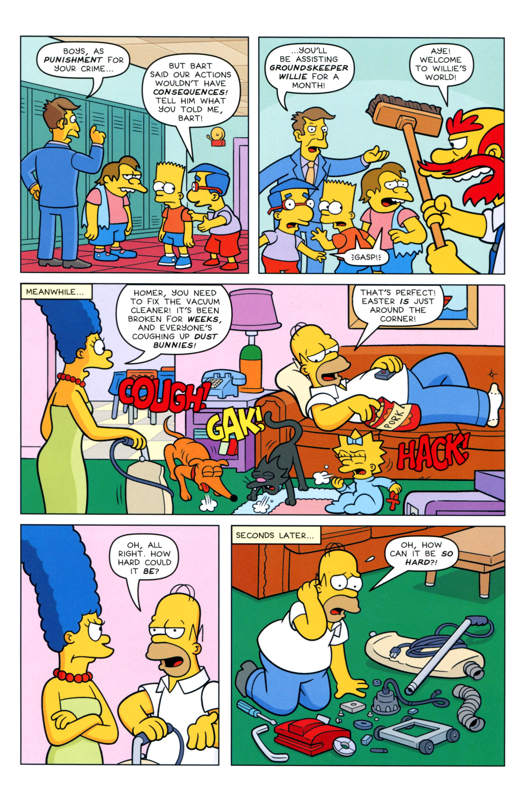 Read online Simpsons Comics comic -  Issue #217 - 5
