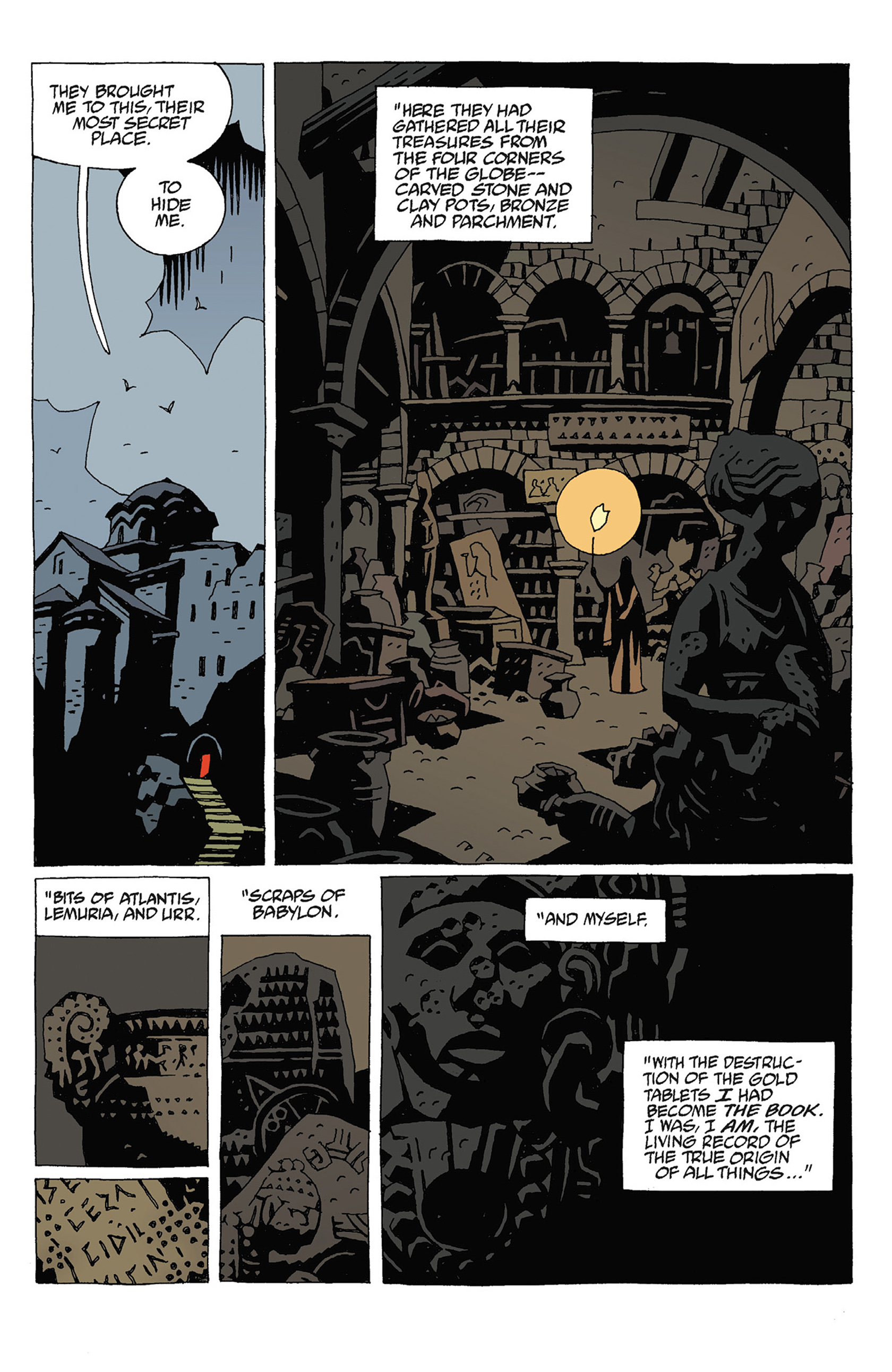 Read online Hellboy: Strange Places comic -  Issue # TPB - 103