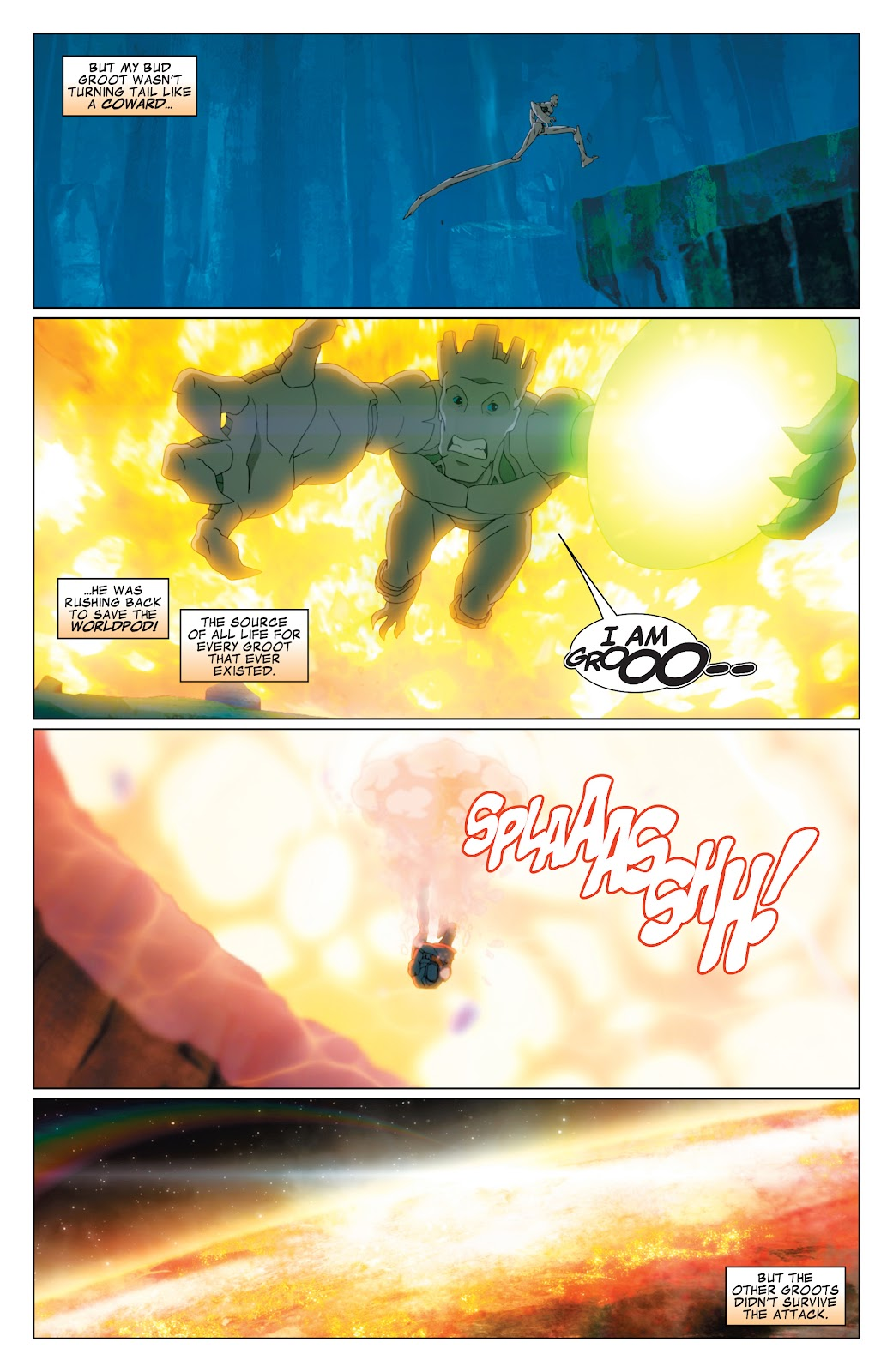 Read online Marvel Universe Guardians of the Galaxy [I] comic -  Issue #4 - 16