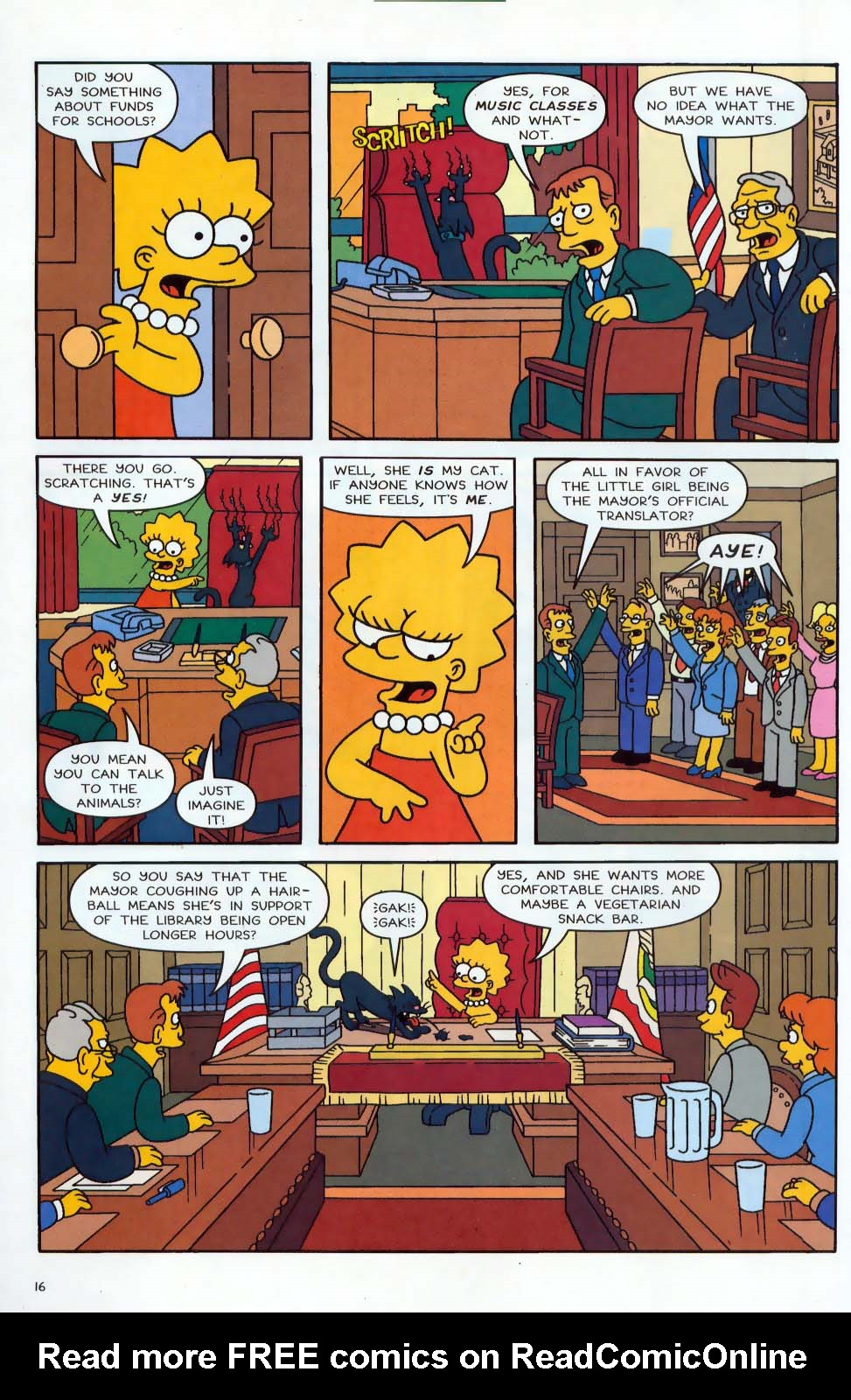 Read online Simpsons Comics comic -  Issue #87 - 17