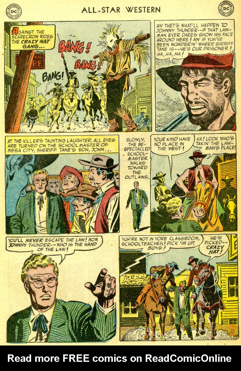 Read online All-Star Western (1951) comic -  Issue #75 - 29