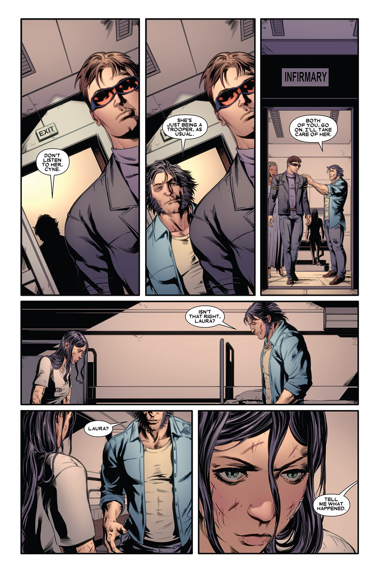 Read online X-23 (2010) comic -  Issue #2 - 14
