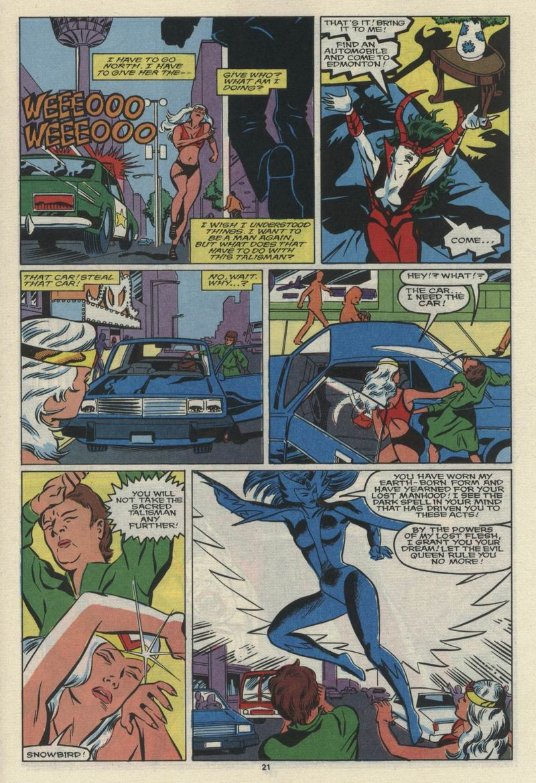 Read online Alpha Flight (1983) comic -  Issue #68 - 23