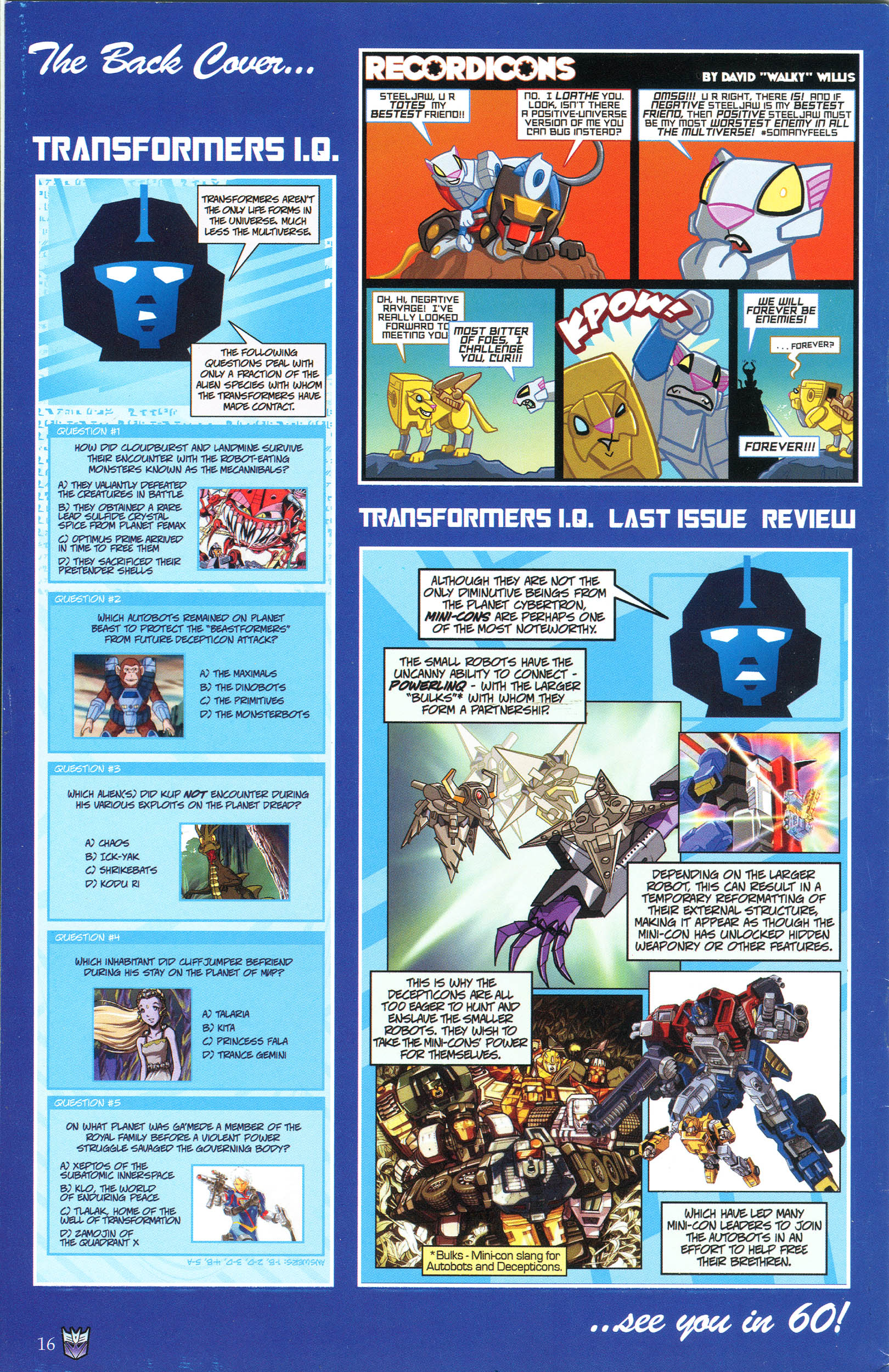 Read online Transformers: Collectors' Club comic -  Issue #46 - 16