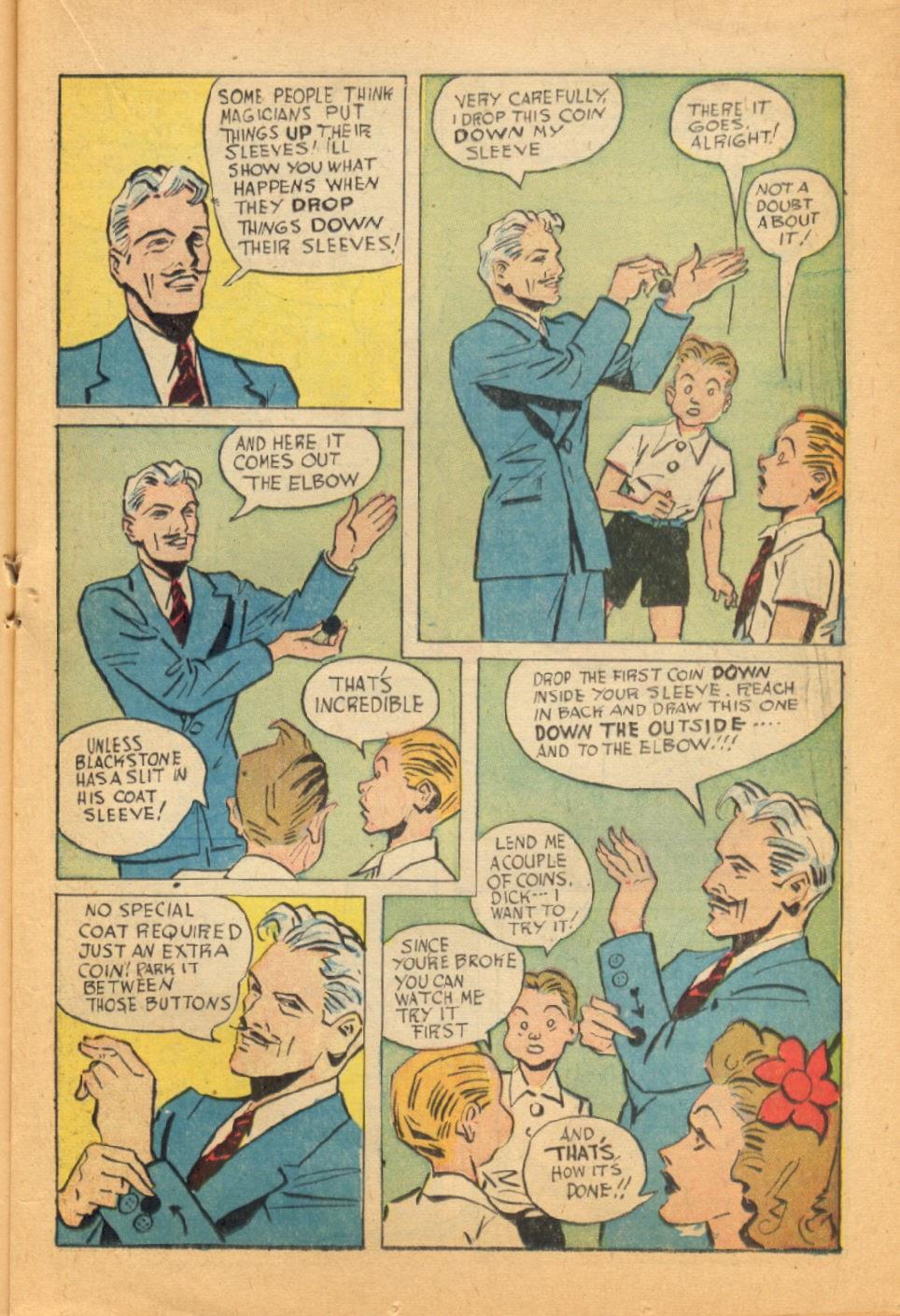 Read online Super-Magician Comics comic -  Issue #44 - 19