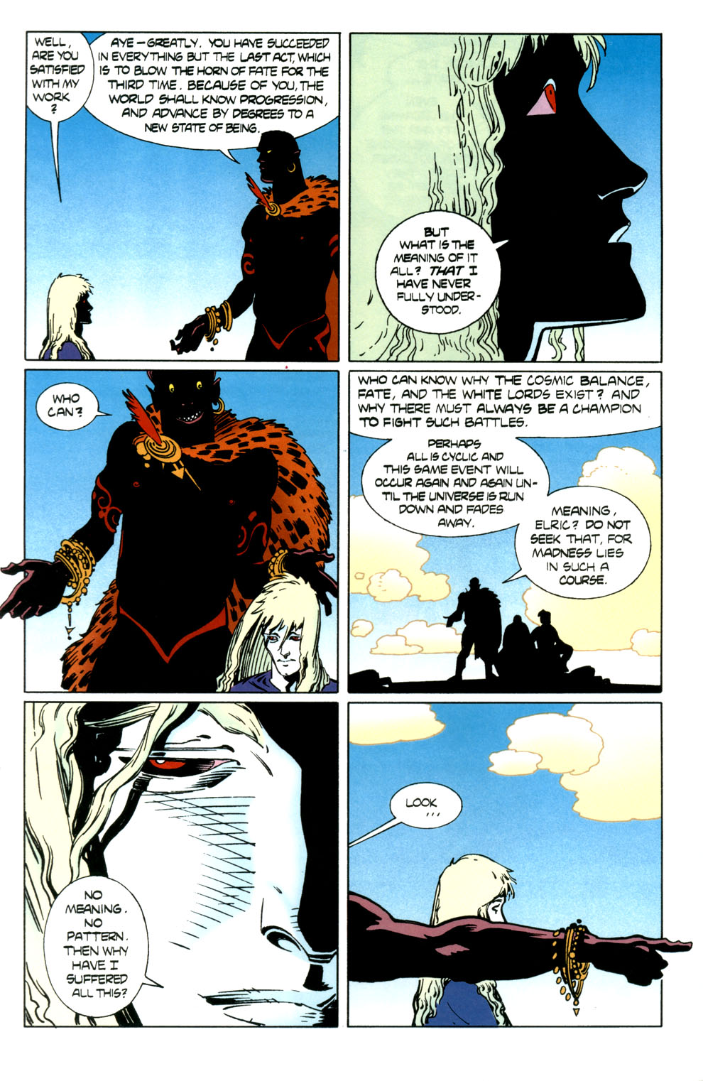 Read online Elric: Stormbringer comic -  Issue #7 - 22
