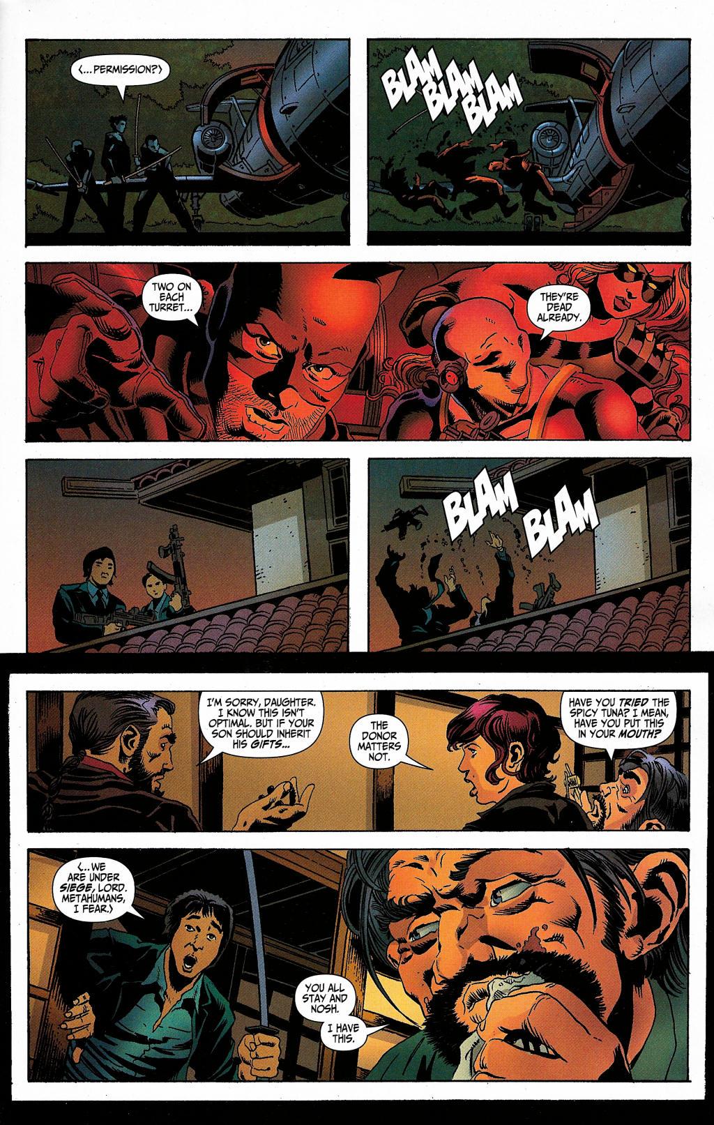 Read online Secret Six (2006) comic -  Issue #5 - 30
