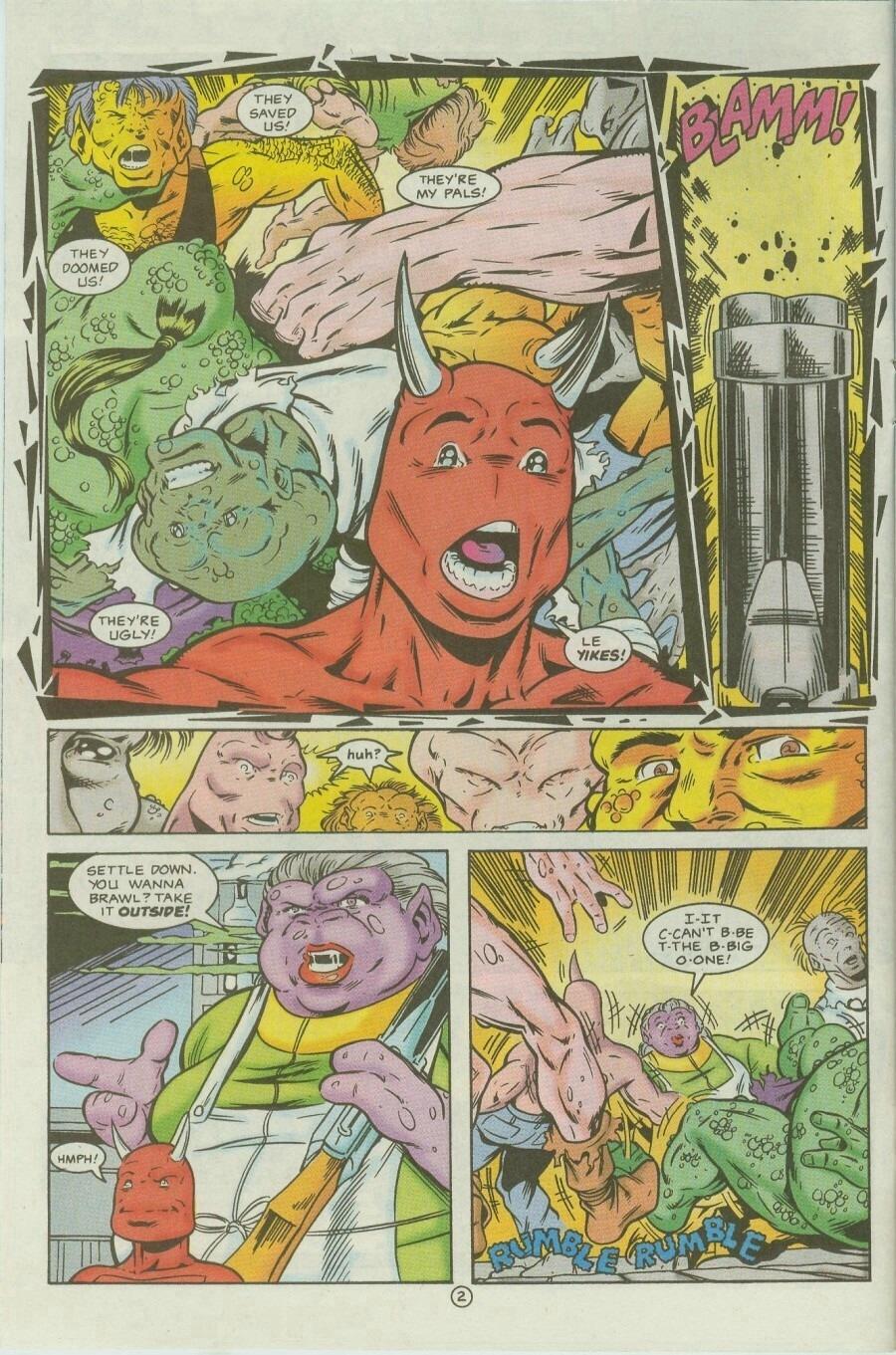 Read online Ex-Mutants comic -  Issue #9 - 4