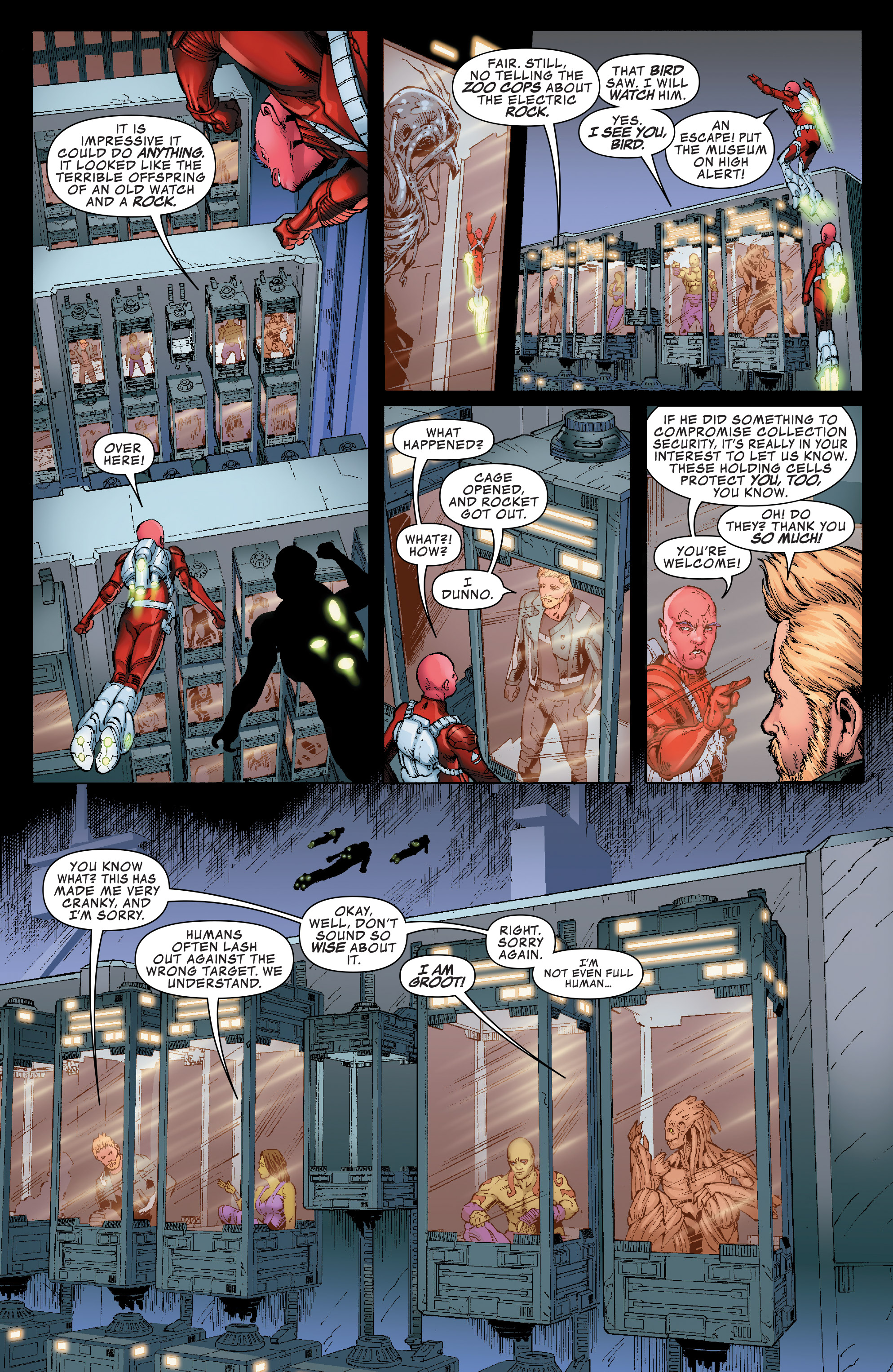 Read online Guardians of the Galaxy: Mission Breakout comic -  Issue # Full - 10