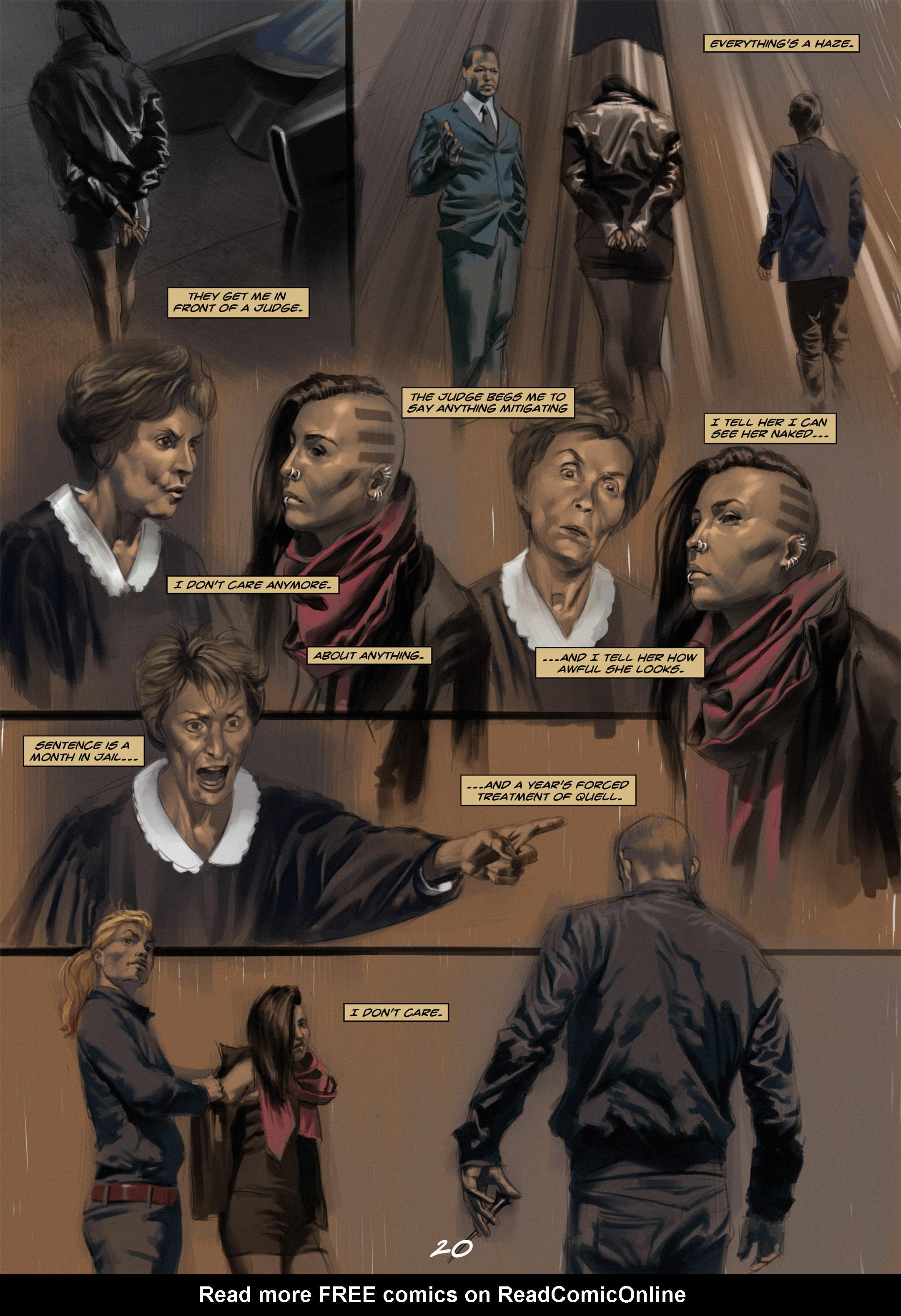 Read online Wynter comic -  Issue #1 - 20