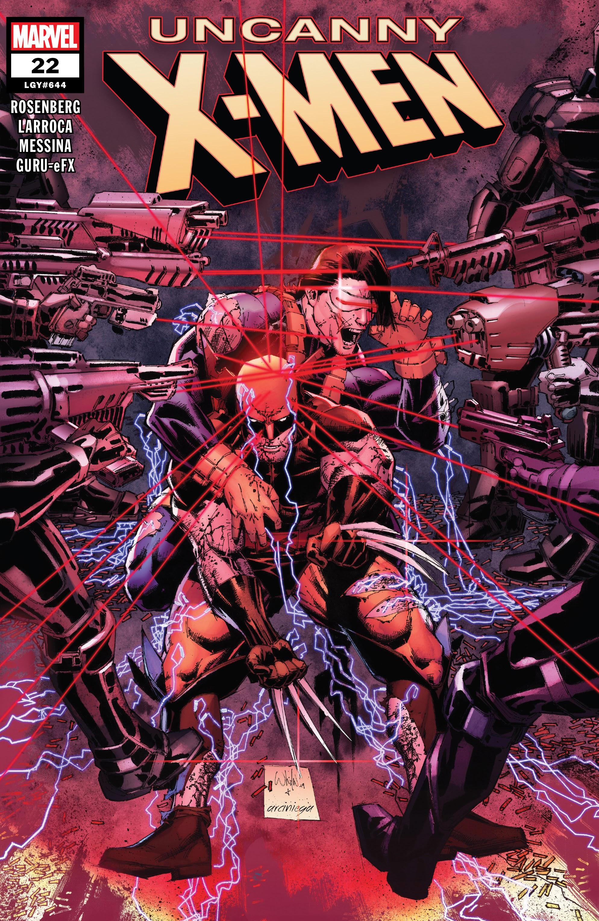 Uncanny X-Men (2019) 22 Page 1