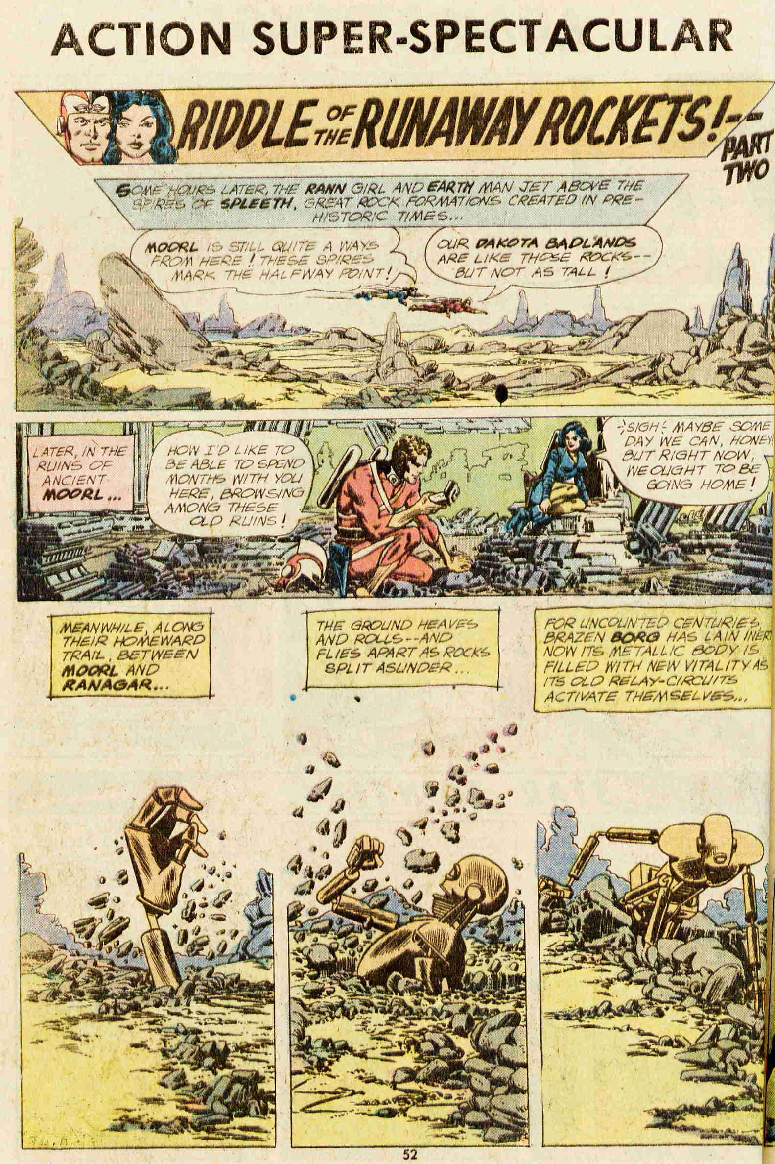 Read online Action Comics (1938) comic -  Issue #437 - 45