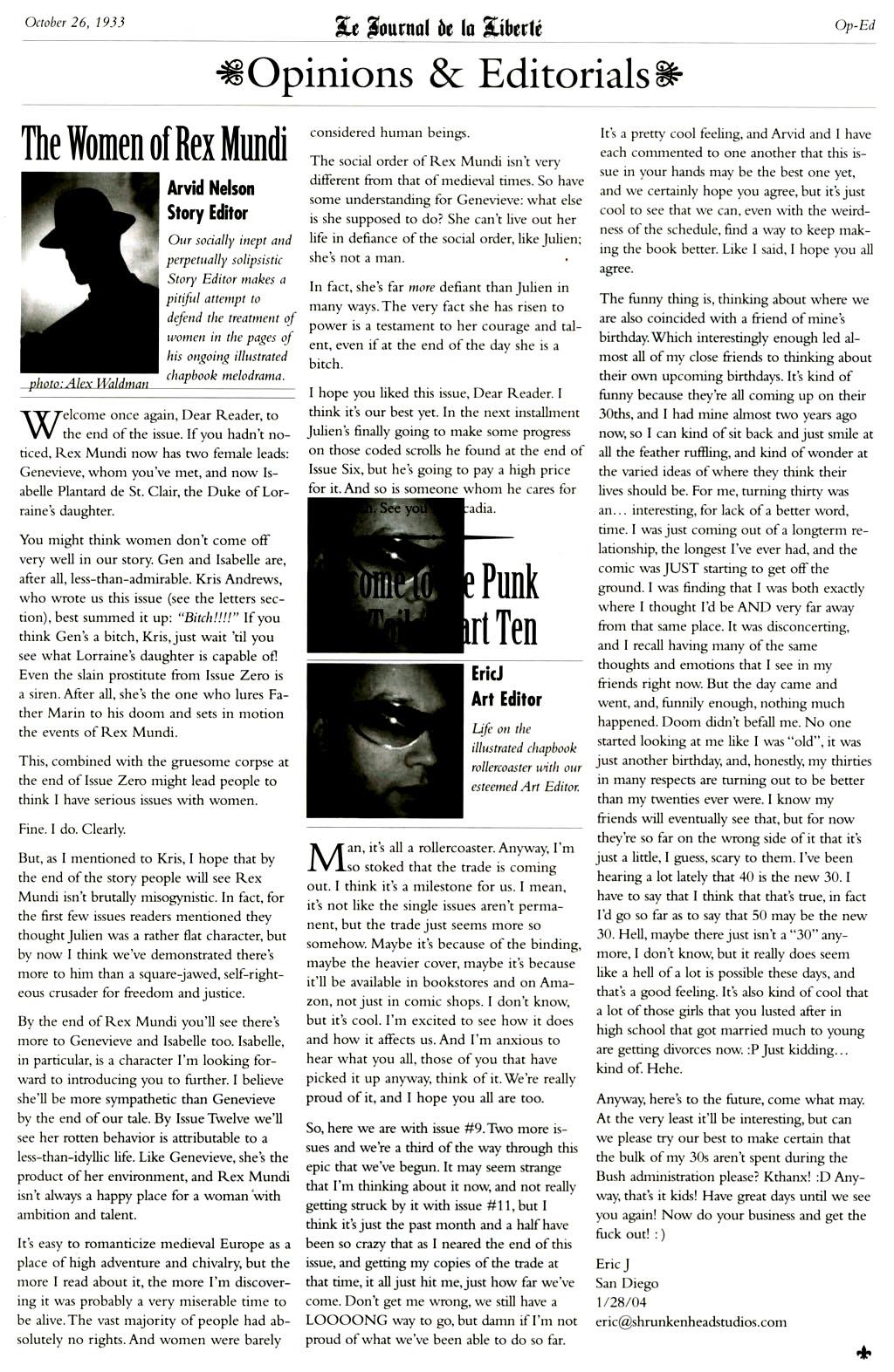 Read online Rex Mundi comic -  Issue #9 - 27
