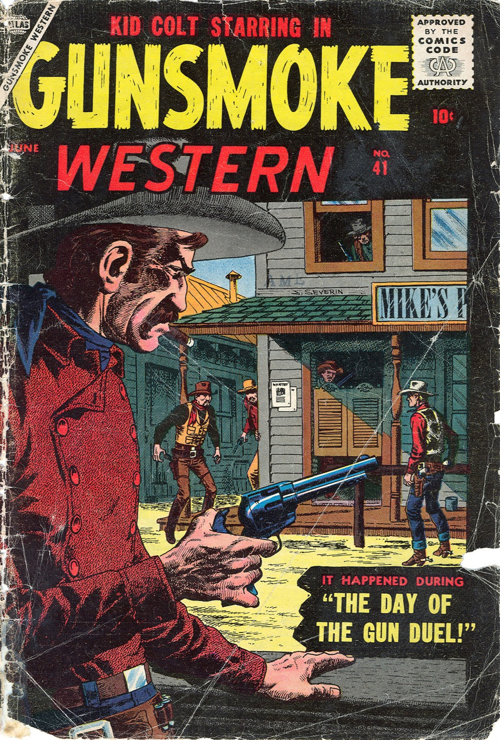 Gunsmoke Western issue 41 - Page 1