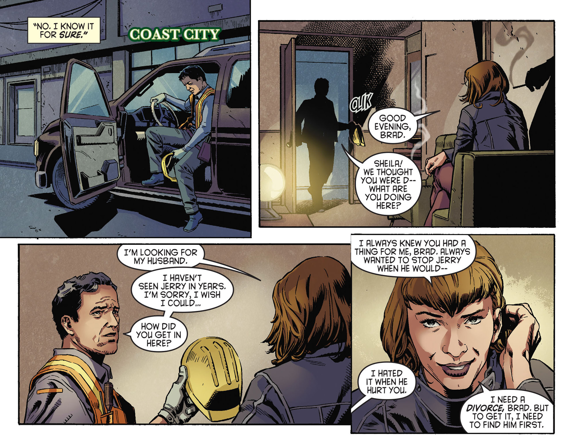Read online Arrow [II] comic -  Issue #30 - 9