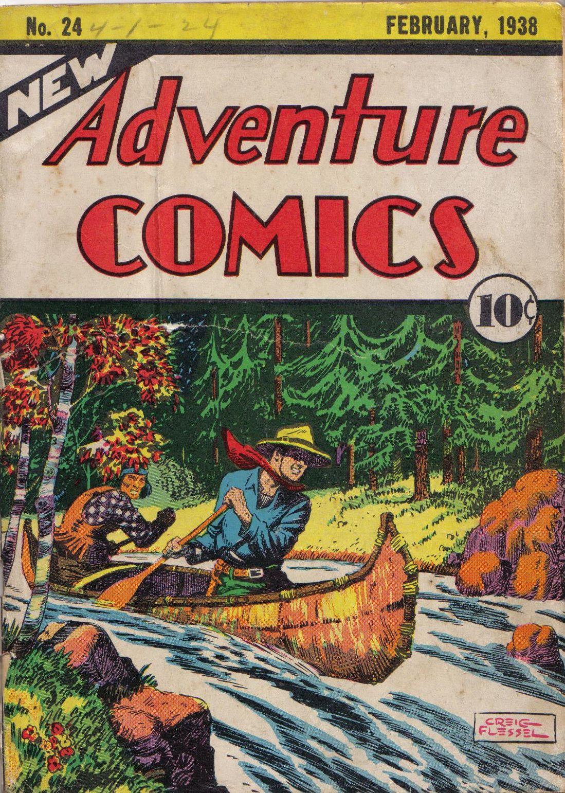 Read online Adventure Comics (1938) comic -  Issue #24 - 1