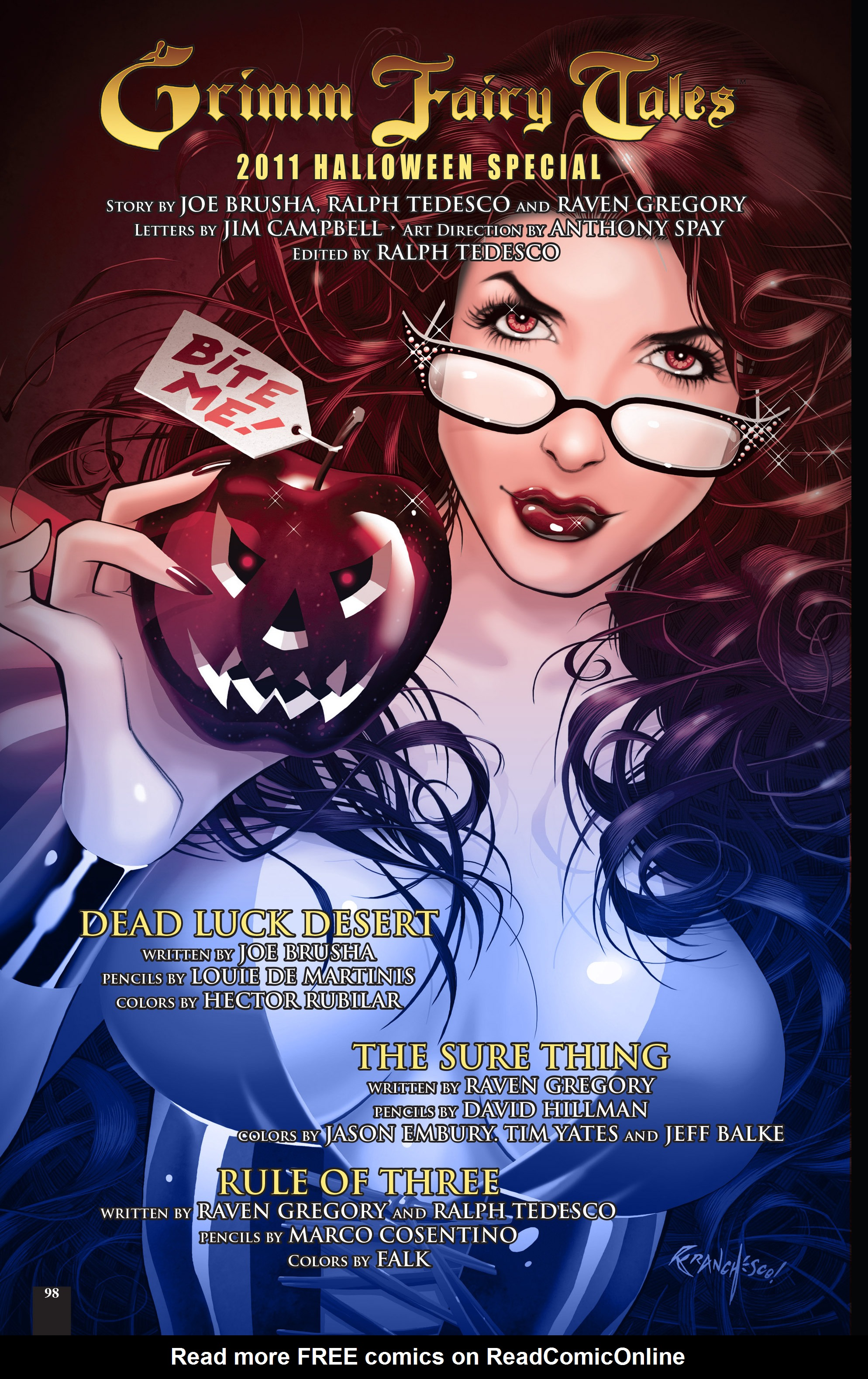 Read online Grimm Fairy Tales: Different Seasons comic -  Issue # TPB 2 - 95