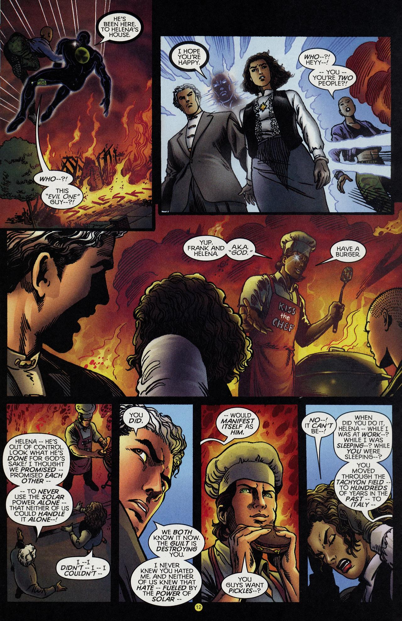 Read online Solar, Man of the Atom: Hell on Earth comic -  Issue #4 - 12