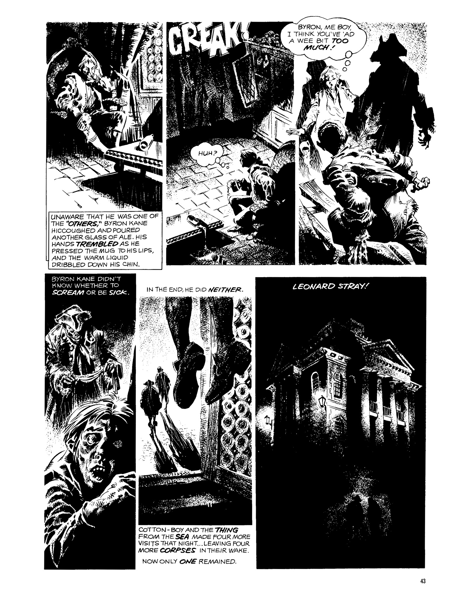 Read online Eerie Archives comic -  Issue # TPB 13 - 44