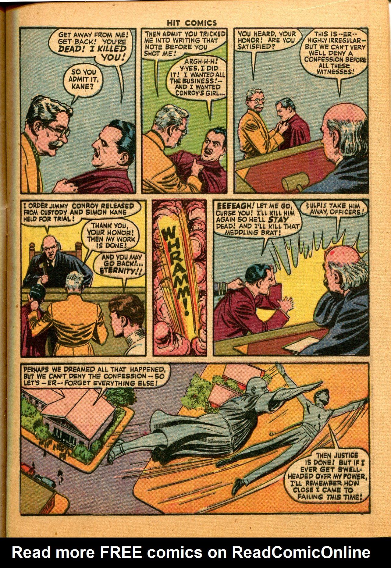 Read online Hit Comics comic -  Issue #35 - 17